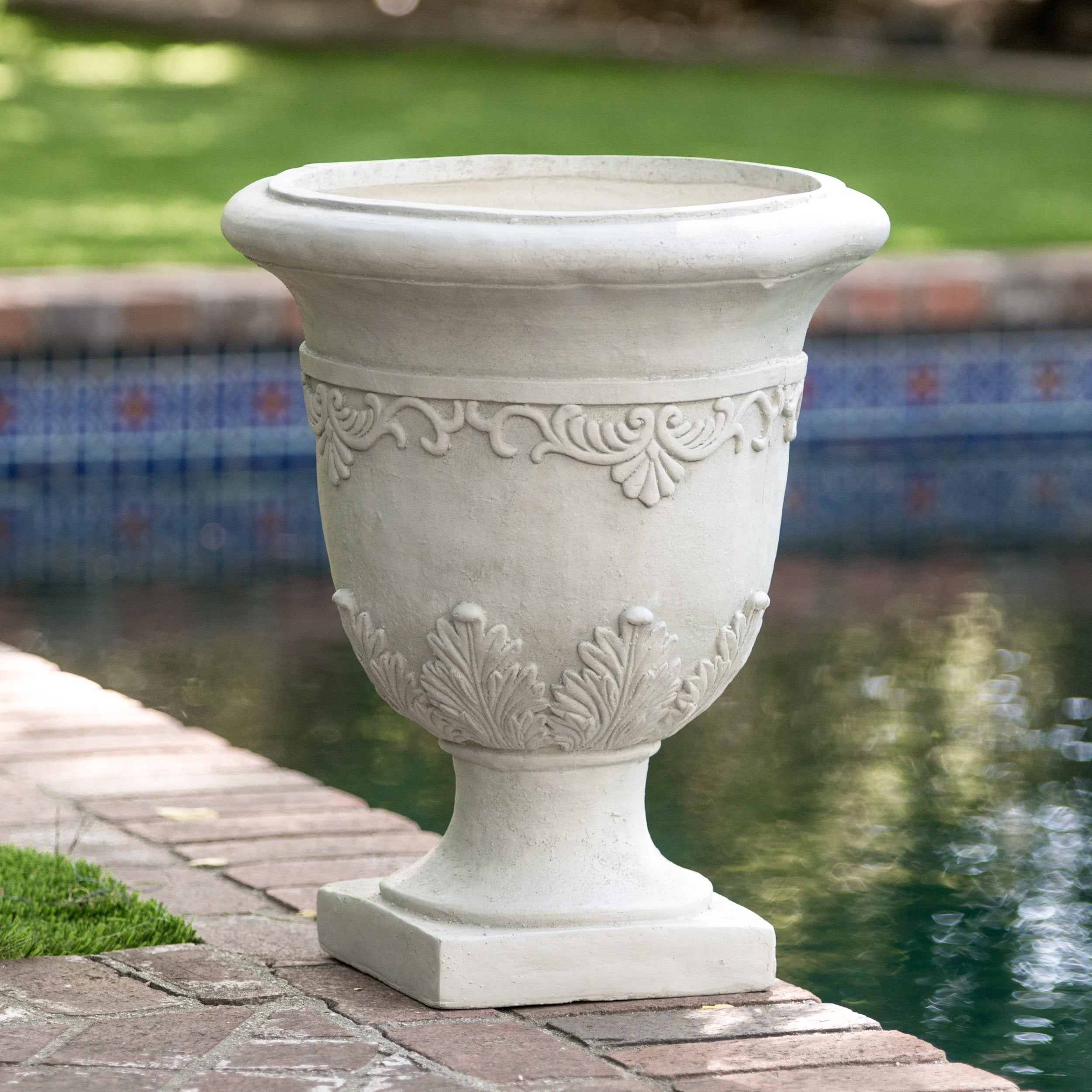 flair featured house living urns appointed a our decor planter garden blue selling home pin to in chic ceramic offers beautiful large glazed luxury finish magazine the southern with well best