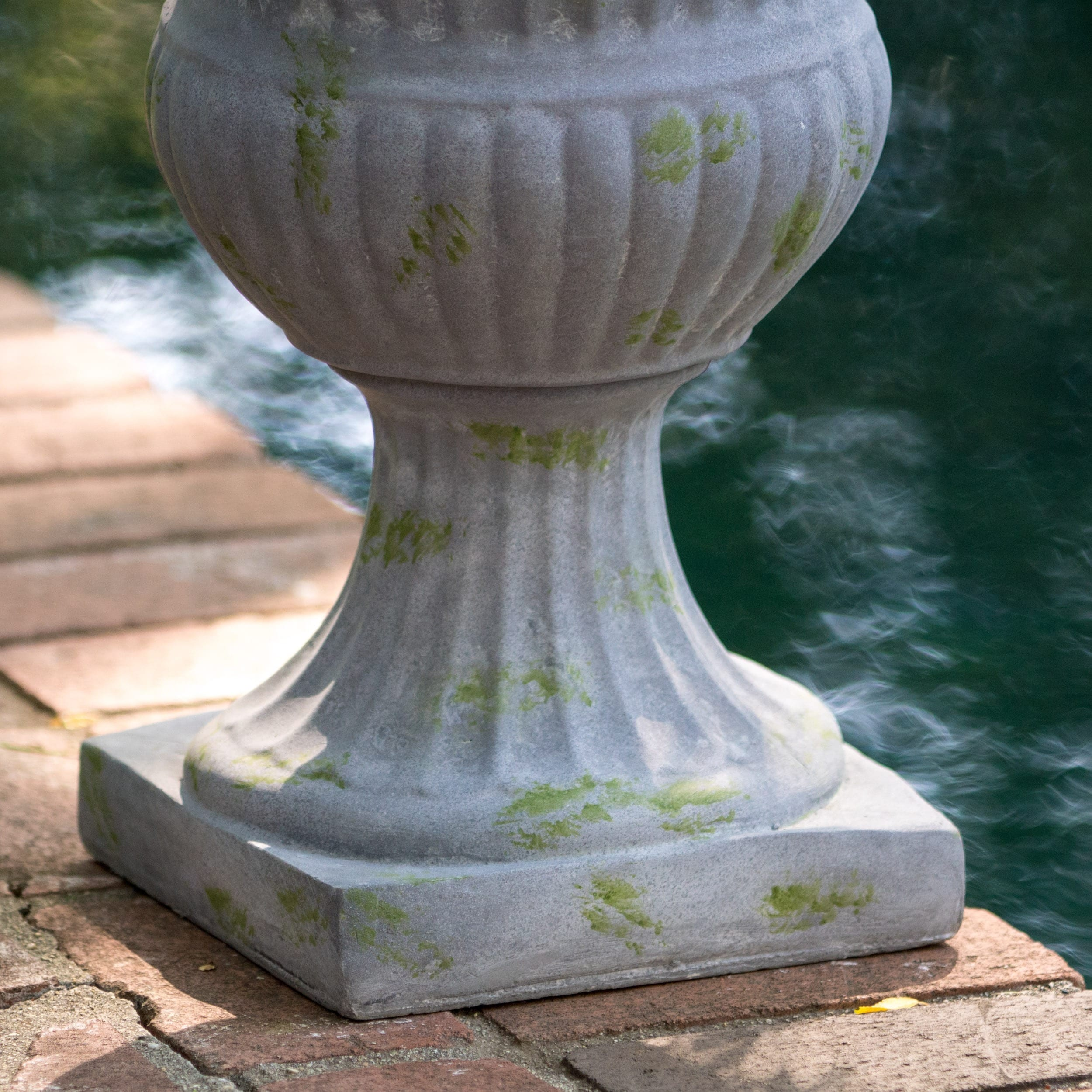 stone urns cast urn planter and planters pin