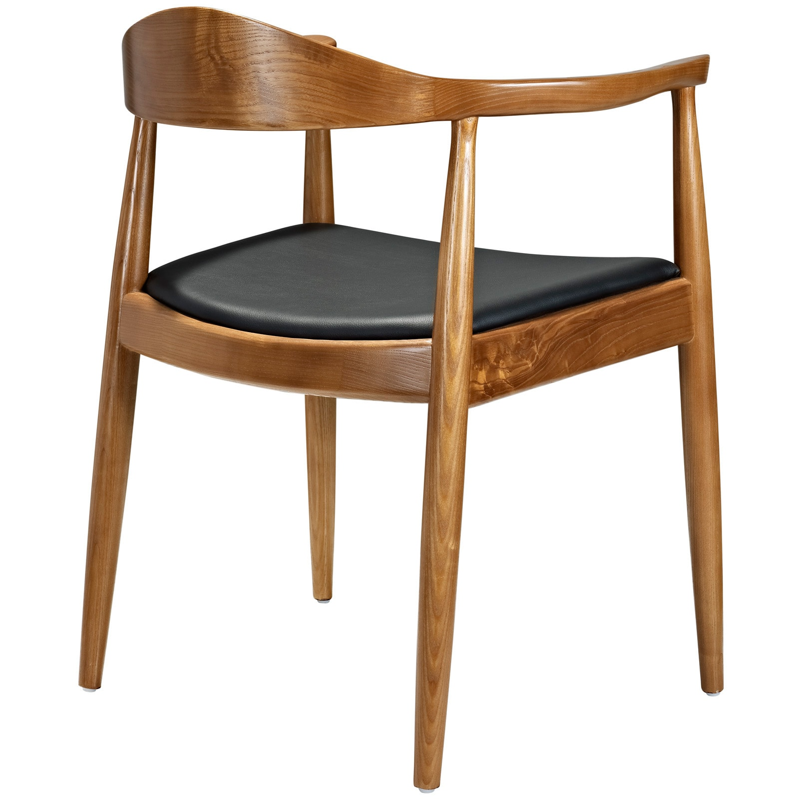Tracy Wood Dining Arm Mid Century Style Chair   Free Shipping Today    Overstock   14230140