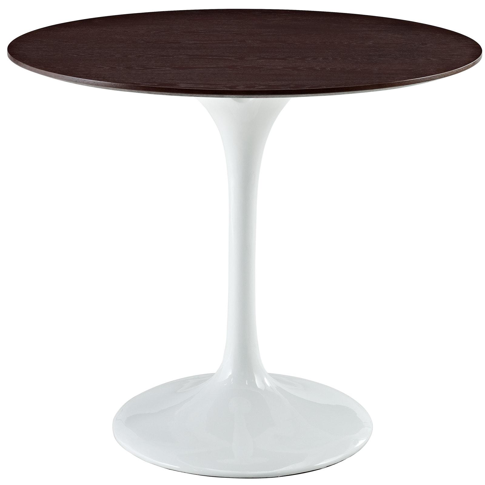 Shop Eero Saarinen Style Inch Walnut Top Tulip Dining Table - Walnut tulip dining table