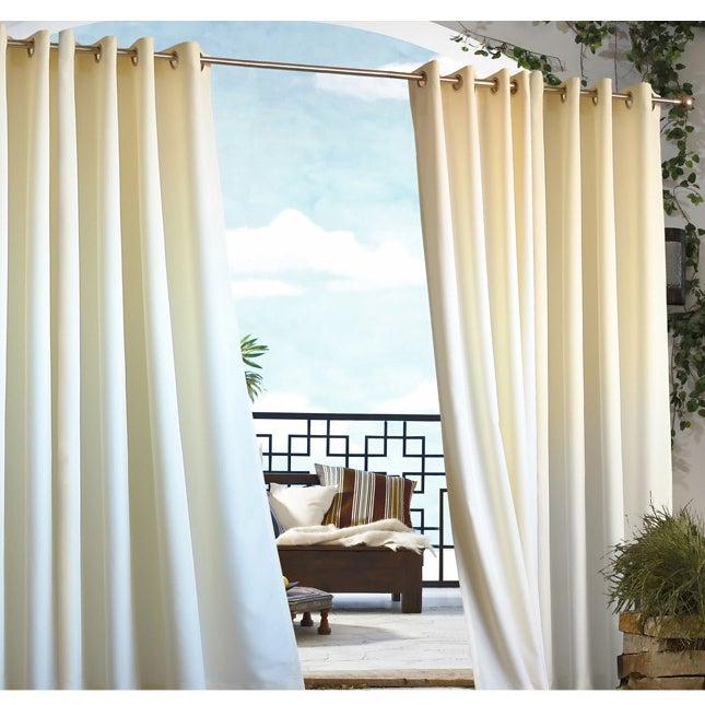 Grommet Top Indoor / Outdoor Curtain Panel - Free Shipping On ...