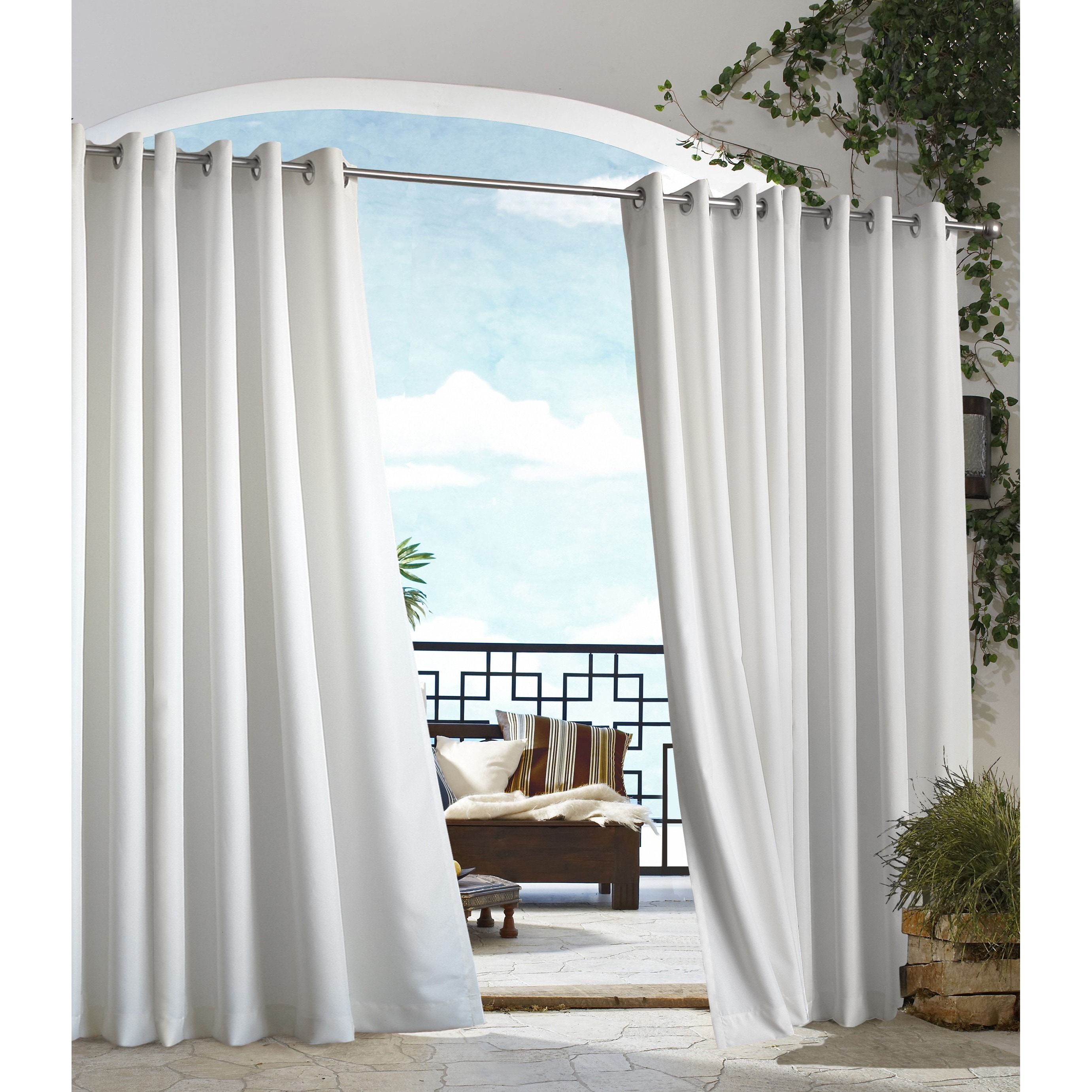 formidable to in curtains for hang on size patio inspirations of cheap gazebo outdoor how curtain image full