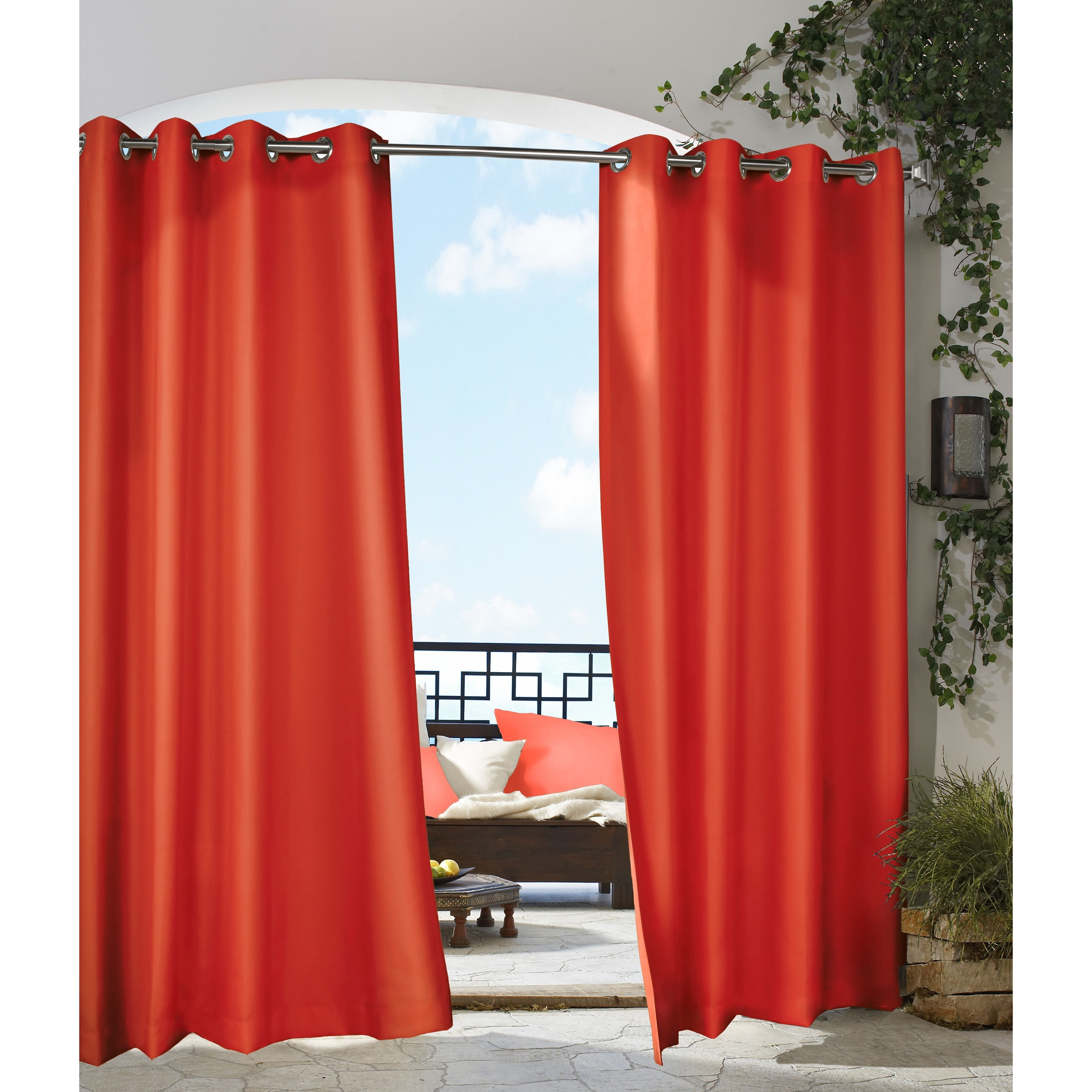 home garden solid curtains panel key free shipping overstock cheap curtain product outdoor today parasol largo indoor