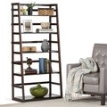 WYNDENHALL Normandy Ladder Shelf Bookcase