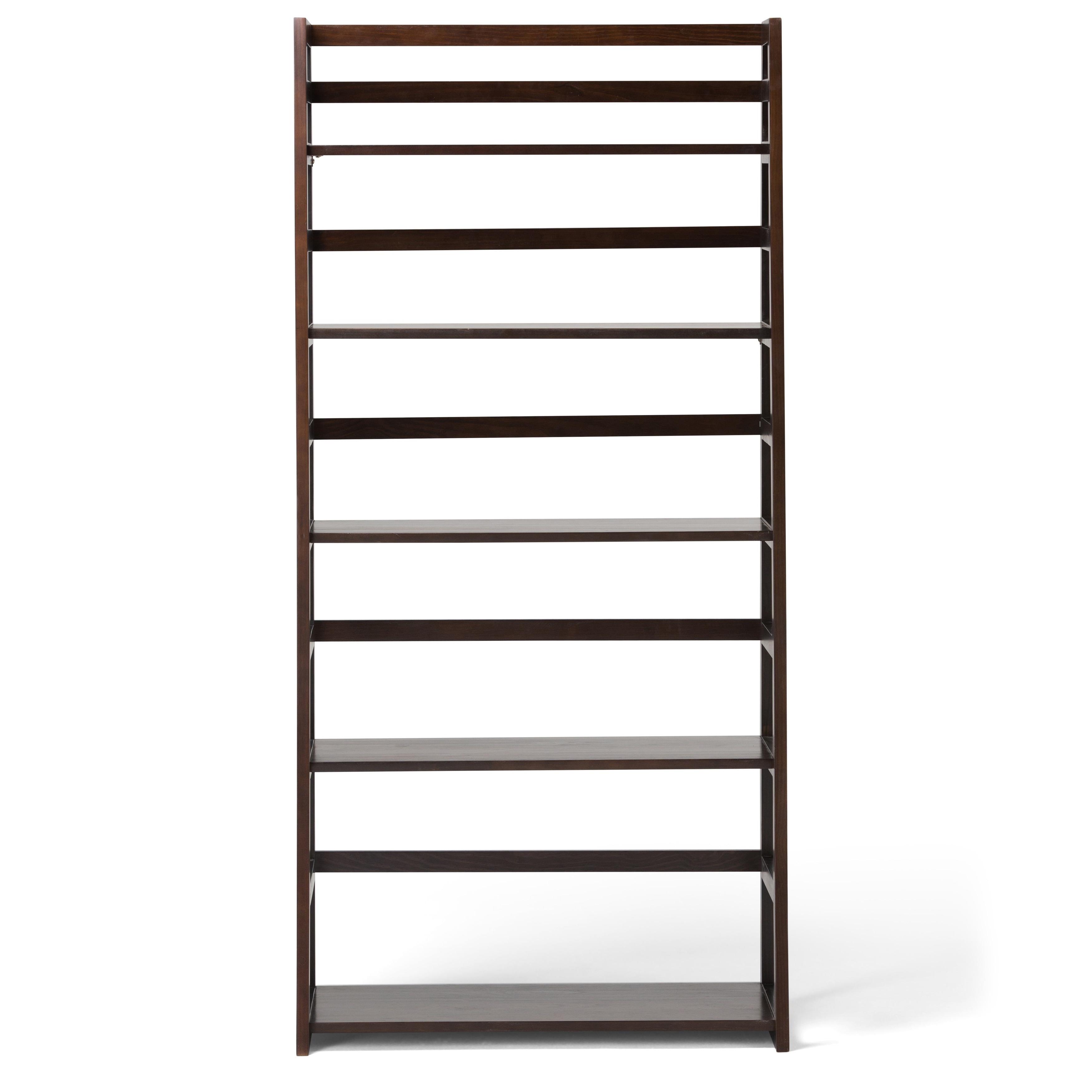 Wyndenhall Normandy Pine Wood Ladder Shelf Bookcase  Free Shipping