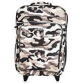 "O3 Kids ""Camo"" 16-inch Rolling Carry On Cooler Upright"