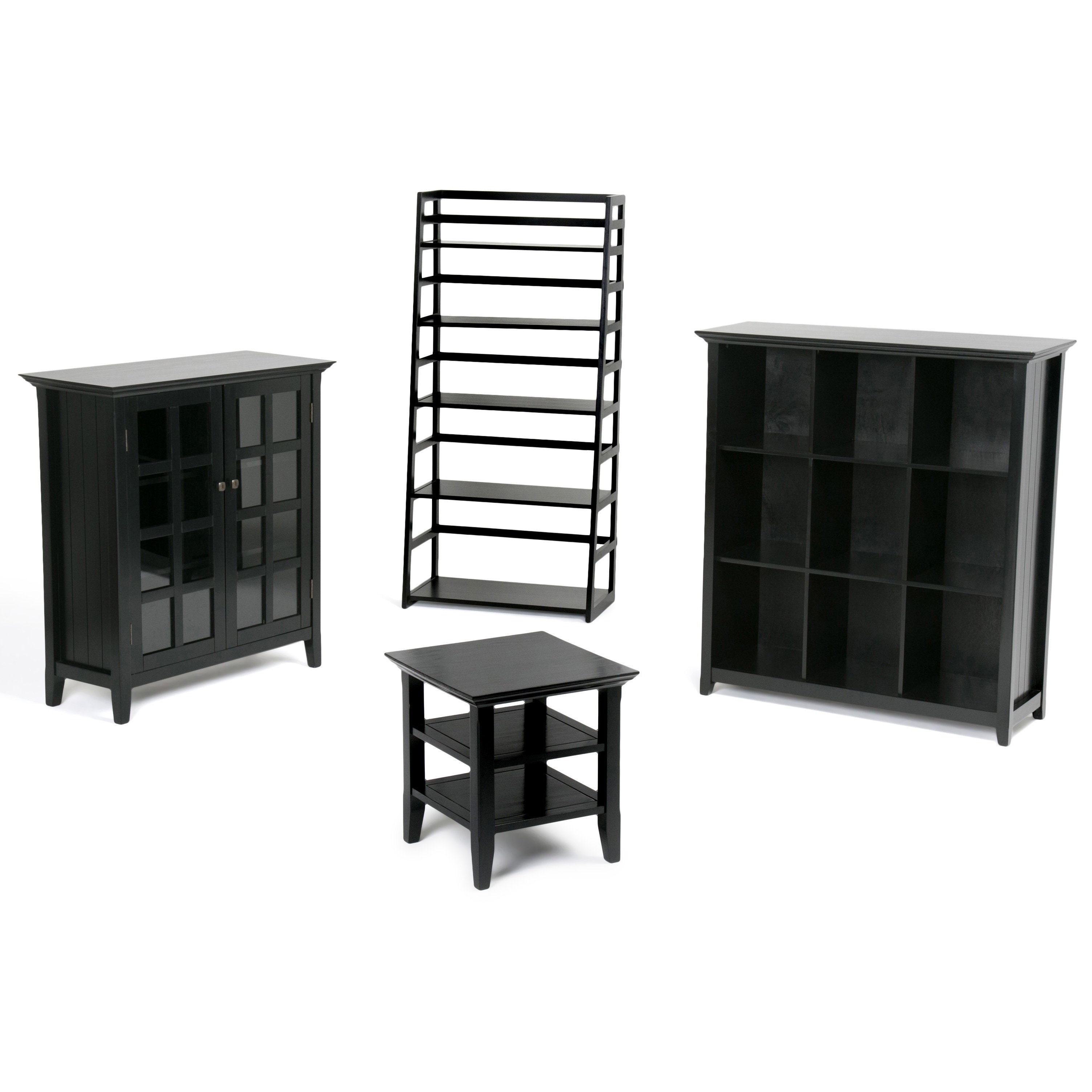 Shop WYNDENHALL Normandy 9 Cube Bookcase Storage Unit   On Sale   Free  Shipping Today   Overstock.com   6702888