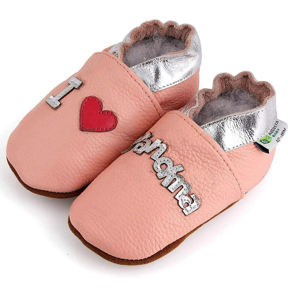 AUGUSTA BABY Baby Boys Girls First Walker Soft Sole Leather Baby Shoes - Bunny - EU Size 20 gTpXj2