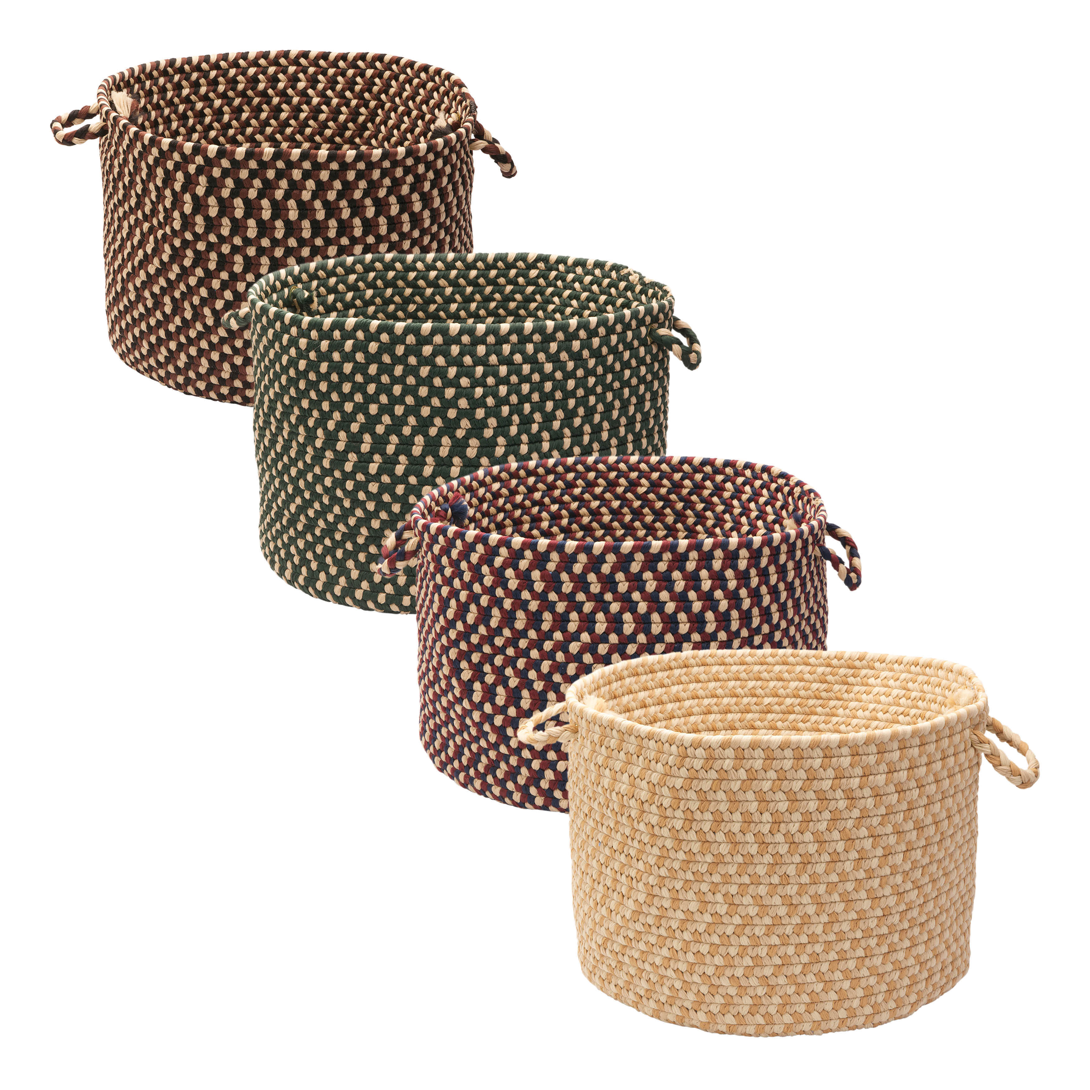 Stable Hill Blackberry Colored Basket   Free Shipping Today   Overstock.com    14258501