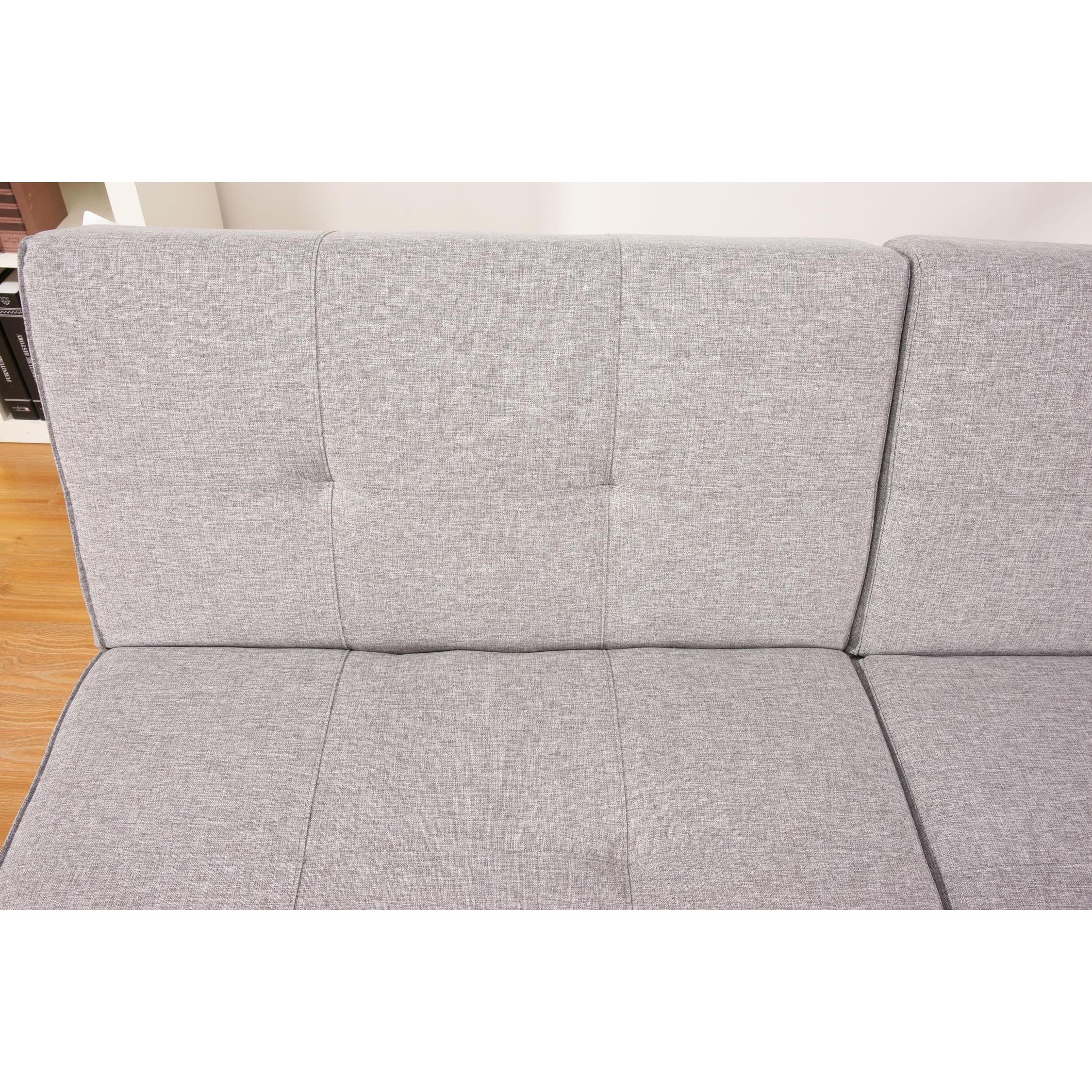 Jacksonville Ash Premium Fabric Foldable Futon Sleeper Sofa Bed  ~ Sofa Bed Jacksonville Fl