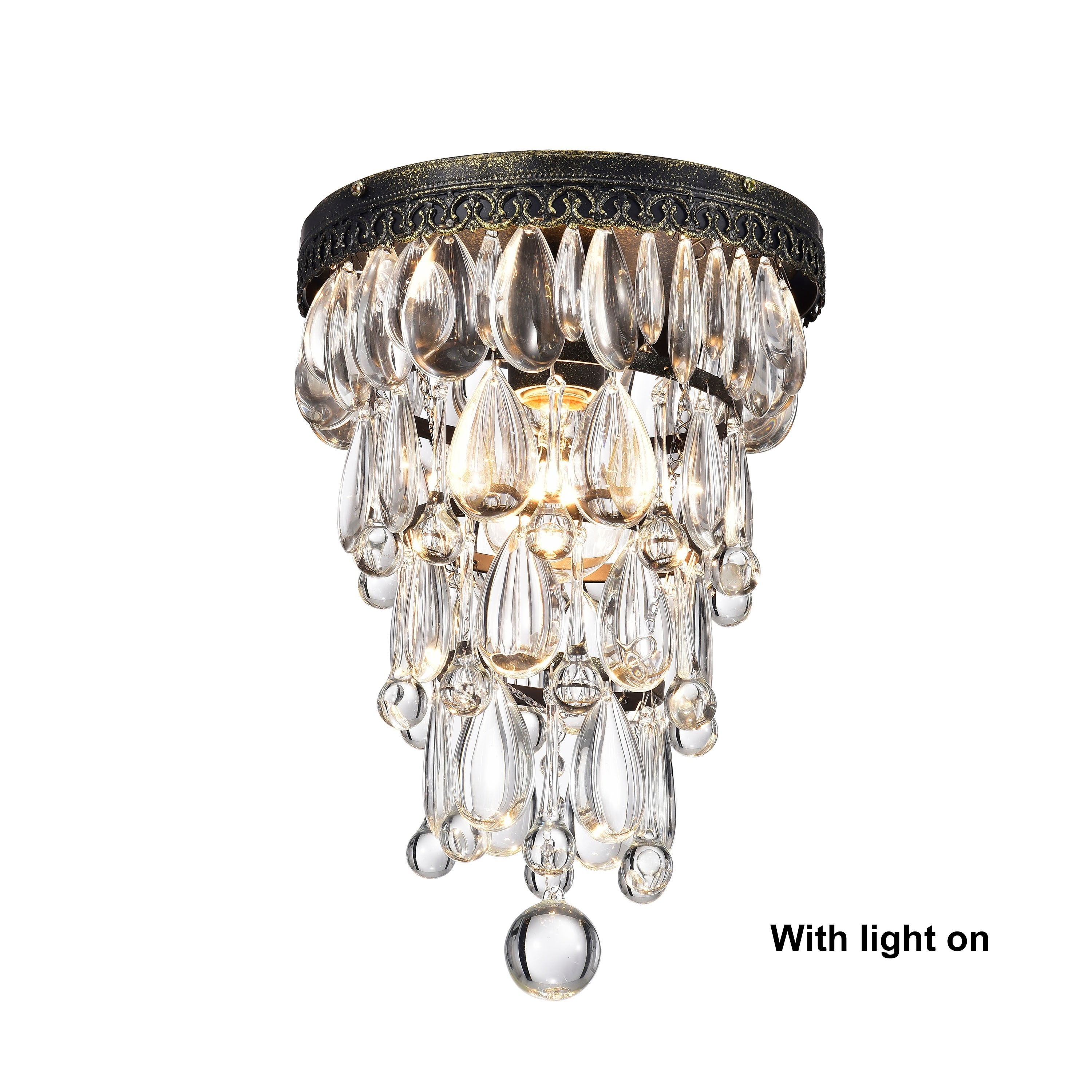 mid lighting discs handblown id century flush chandeliers modern with ceiling murano x lights glass mount sale for f furniture chandelier