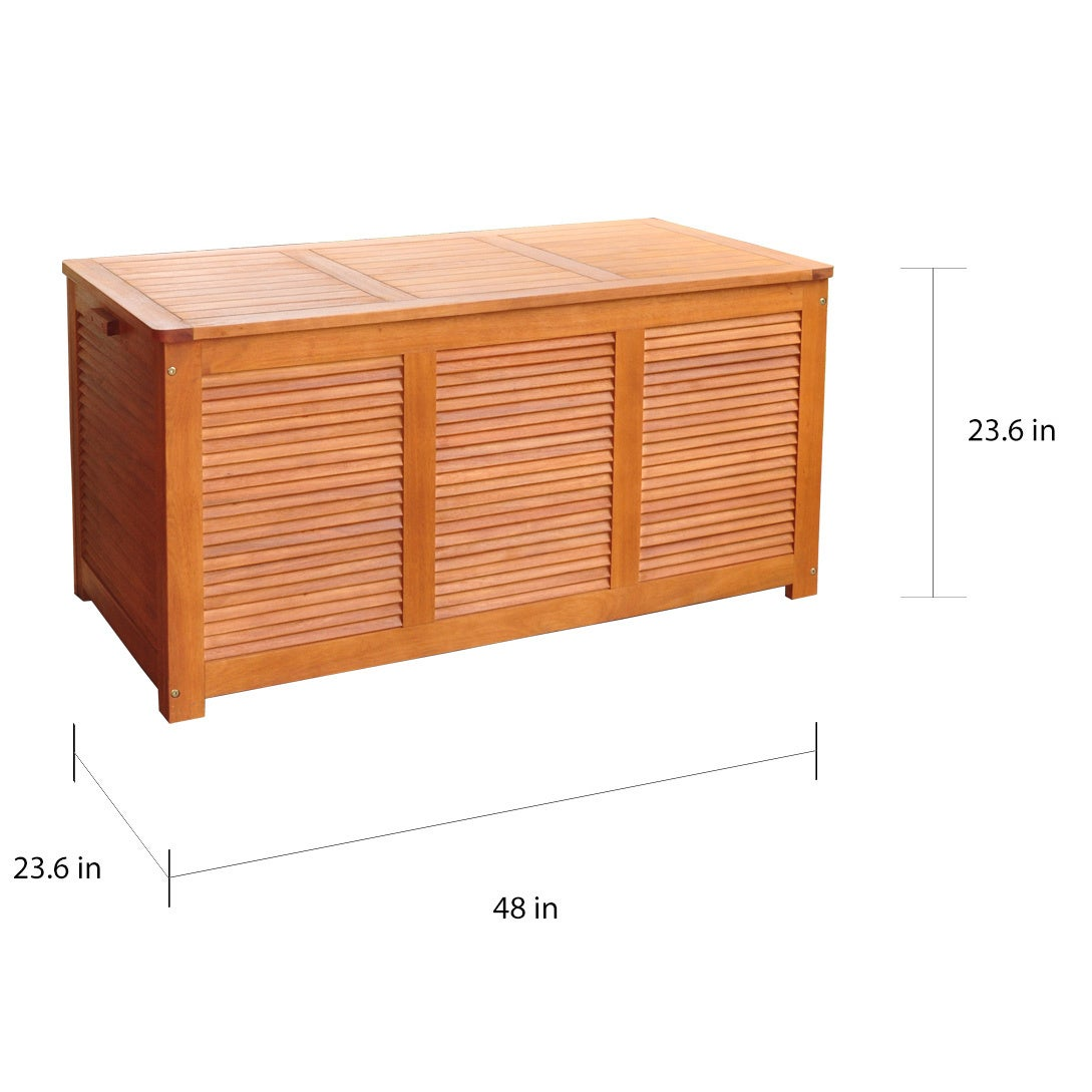 Shop Merry Products Outdoor Cushion Storage Box Free Shipping