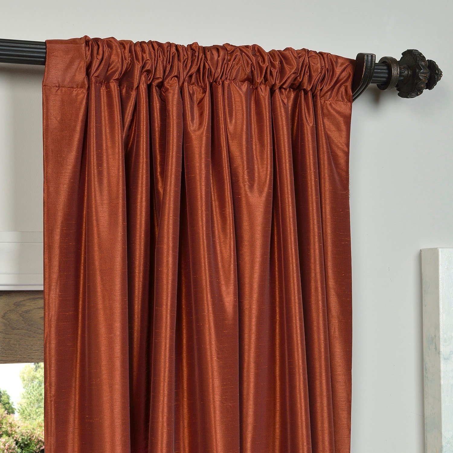 pin set panel curtains ombre ideas curtain panels and gradient orange idea