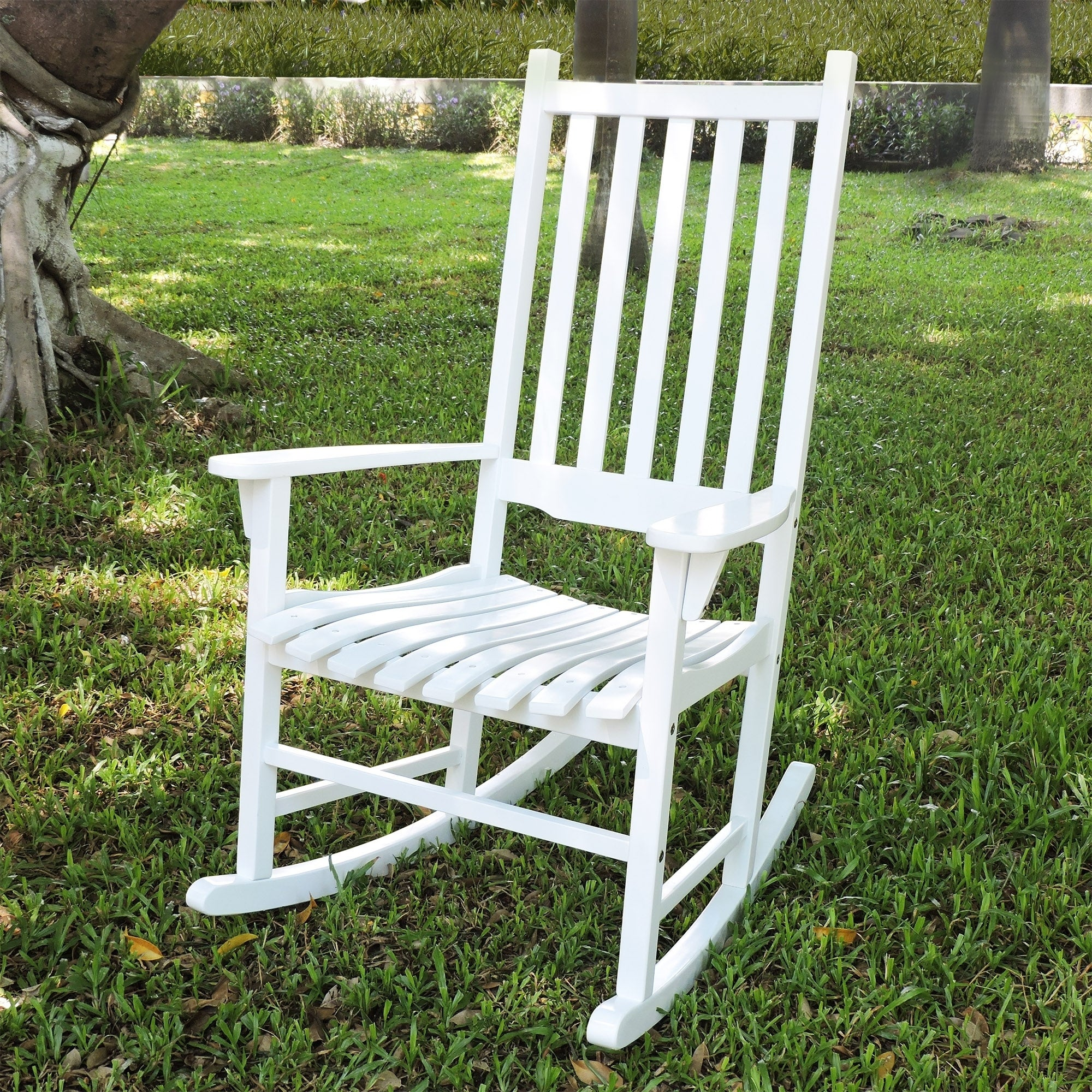 Bon Shop Laurel Creek Agnes Traditional Rocking Chair   Free Shipping Today    Overstock.com   21166428