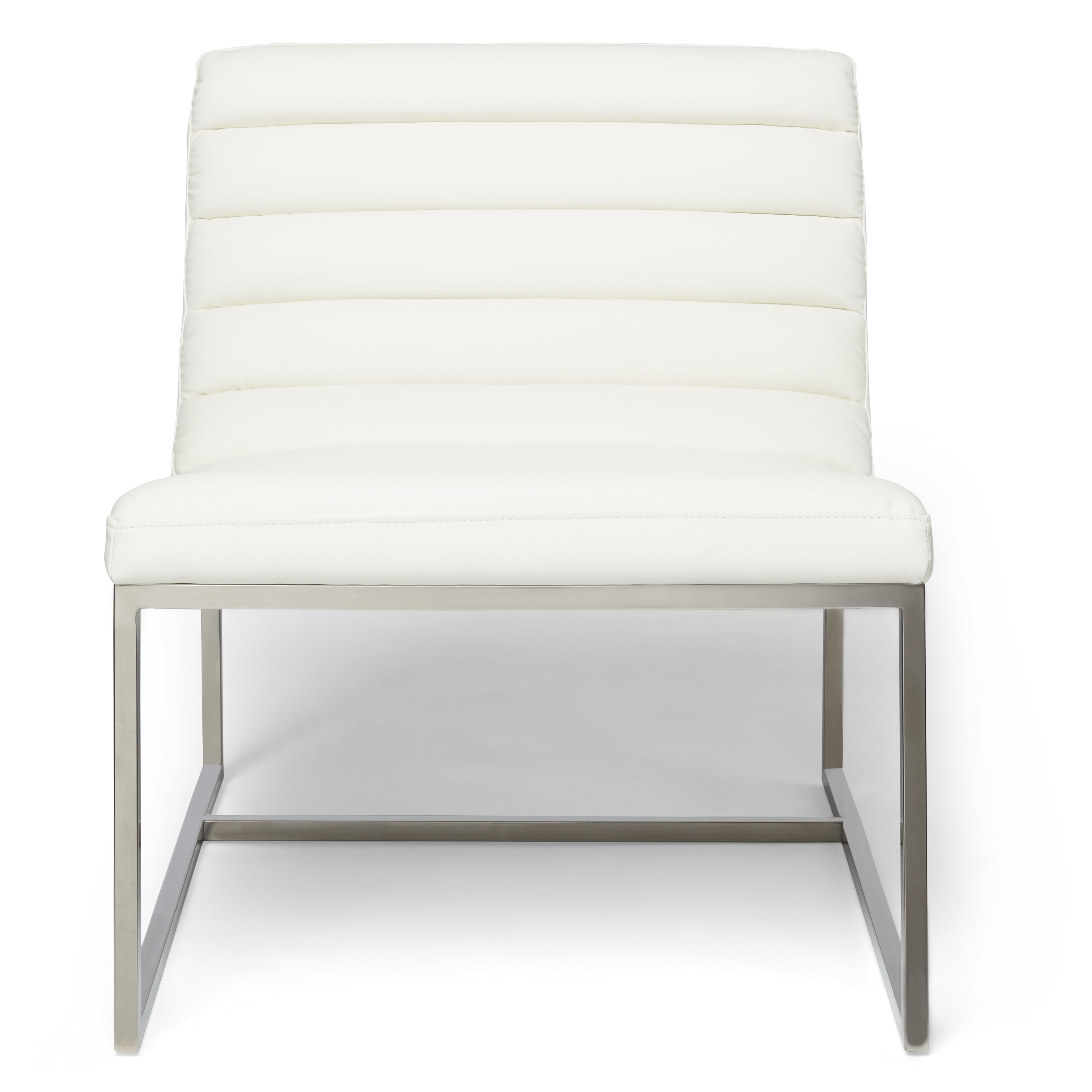 Parisian White Leather Sofa Chair By Christopher Knight Home  ~ Black Leather Sofa Chair
