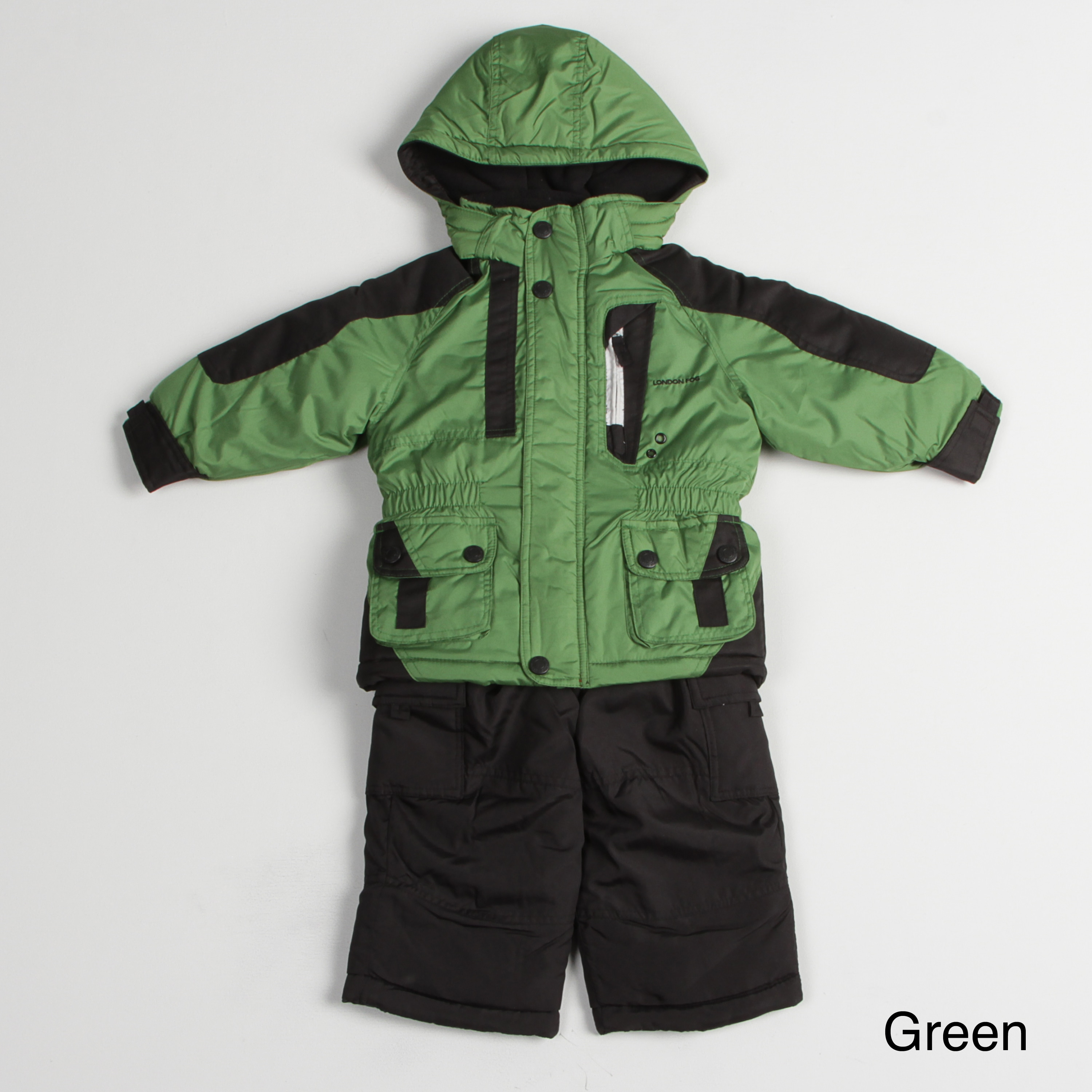 2780ee14b Shop London Fog Toddler Boy s Colorblock Snow Suit - Free Shipping ...