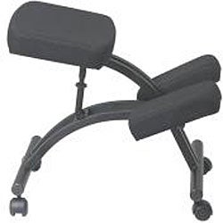 shop office star ergonomically designed knee chair with casters and