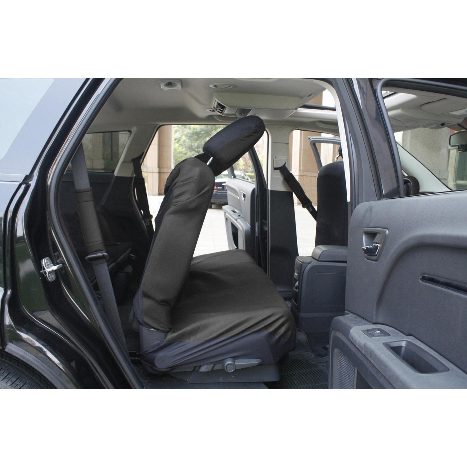 Shop OxGord Black 17-piece Car Seat Cover Automotive Set - Free ...