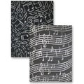M-Bossabilities Reversible A4 Embossing Folder-Music