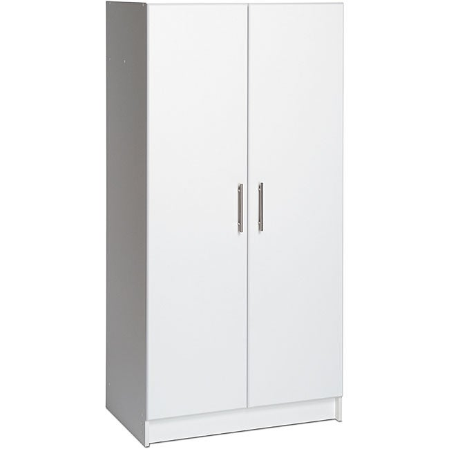 Winslow White 32 Inch Elite Wardrobe Cabinet Free Shipping Today 6721896
