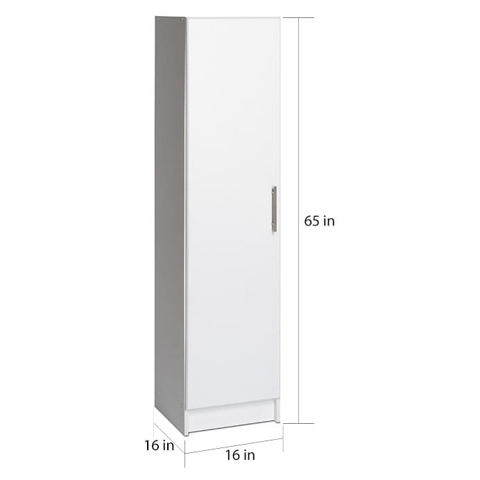 Prepac Elite 16 Inch Narrow Cabinet, Multiple Finishes   Free Shipping  Today   Overstock   14275575