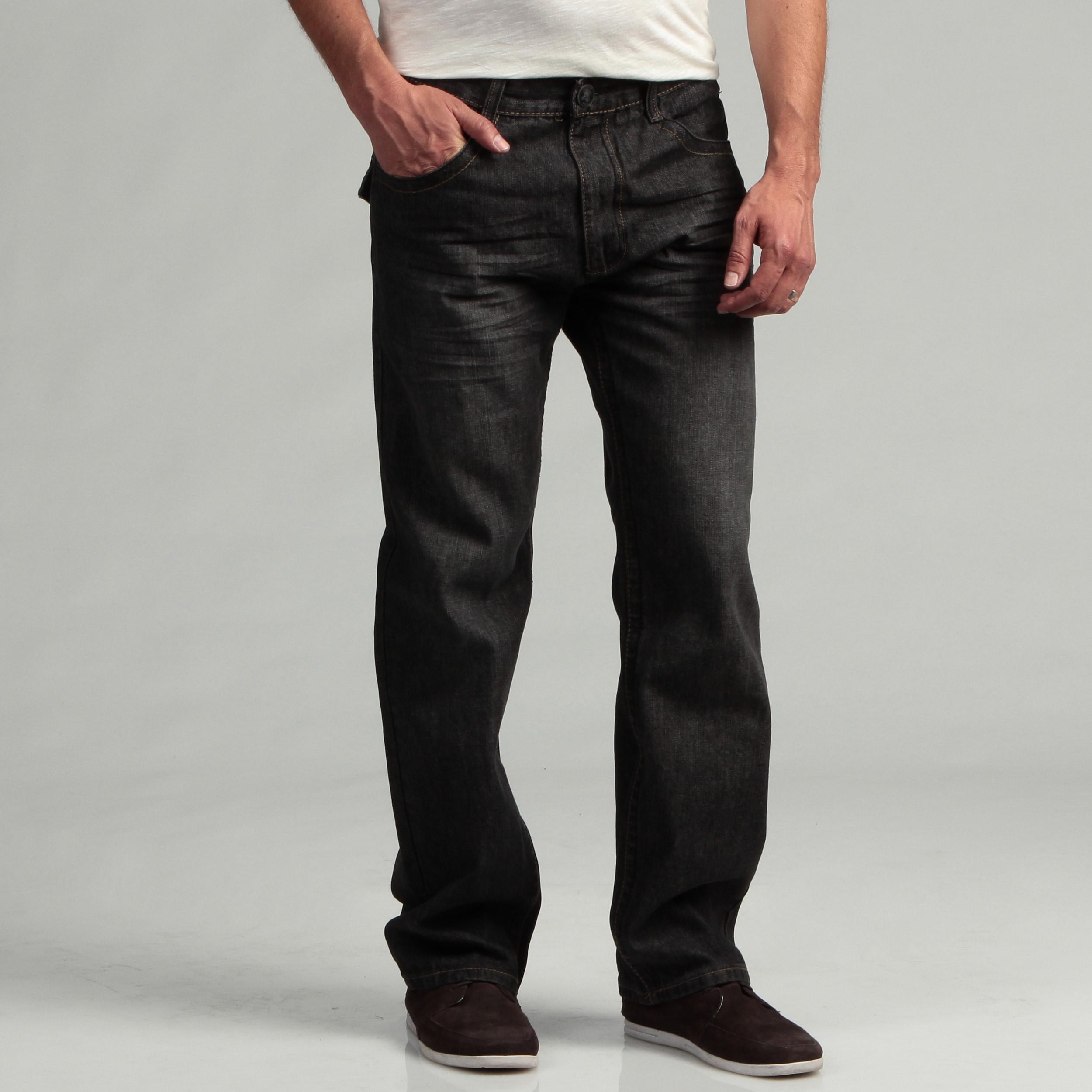Shop Southpole Men s Black Sand Denim Jeans - Free Shipping On ... c8a76955b