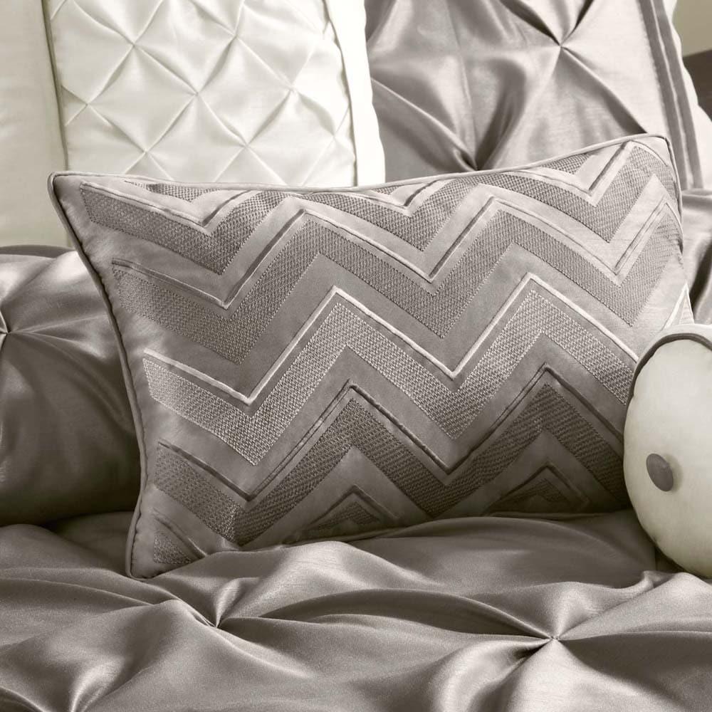 new damask bedding bel york queen silver by comforter p air set velveteen j