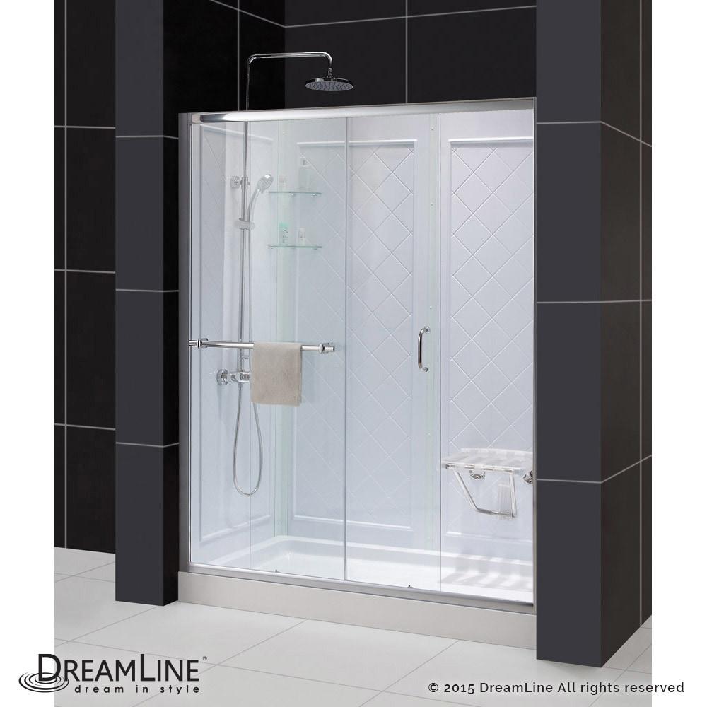 Shop Dreamline Folding Shower Seat Plastic Shower Seat Free