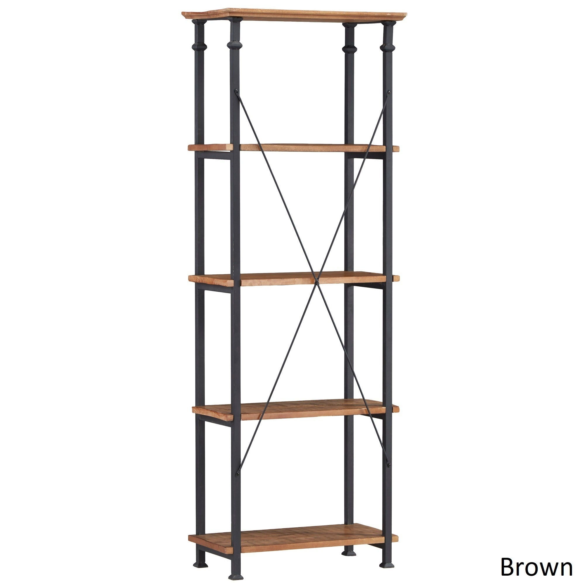Myra Vintage Industrial Modern Rustic Bookcase by iNSPIRE Q Classic - Free  Shipping Today - Overstock.com - 14288170