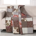 Greenland Home Fashions Stella Quilted Patchwork Throw