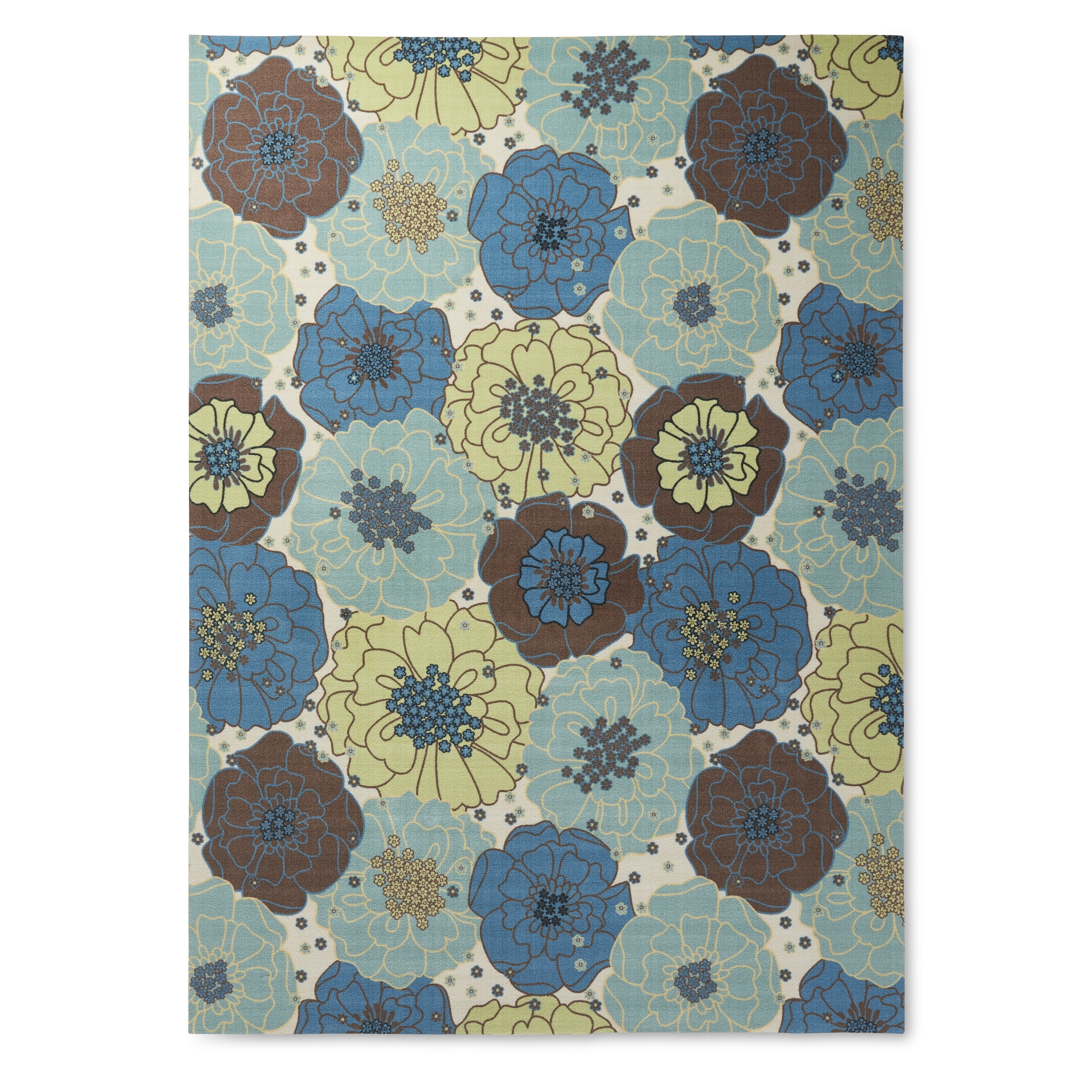 x com feet dining bright aqua dp kitchen il by inches amazon nourison rug rectangle fantasy area floral