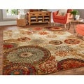Porch & Den Park Circle Bexley Multicolor Medallion Area Rug (5' x 8')