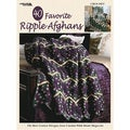 Leisure Arts-40 Favorite Ripple Afghans