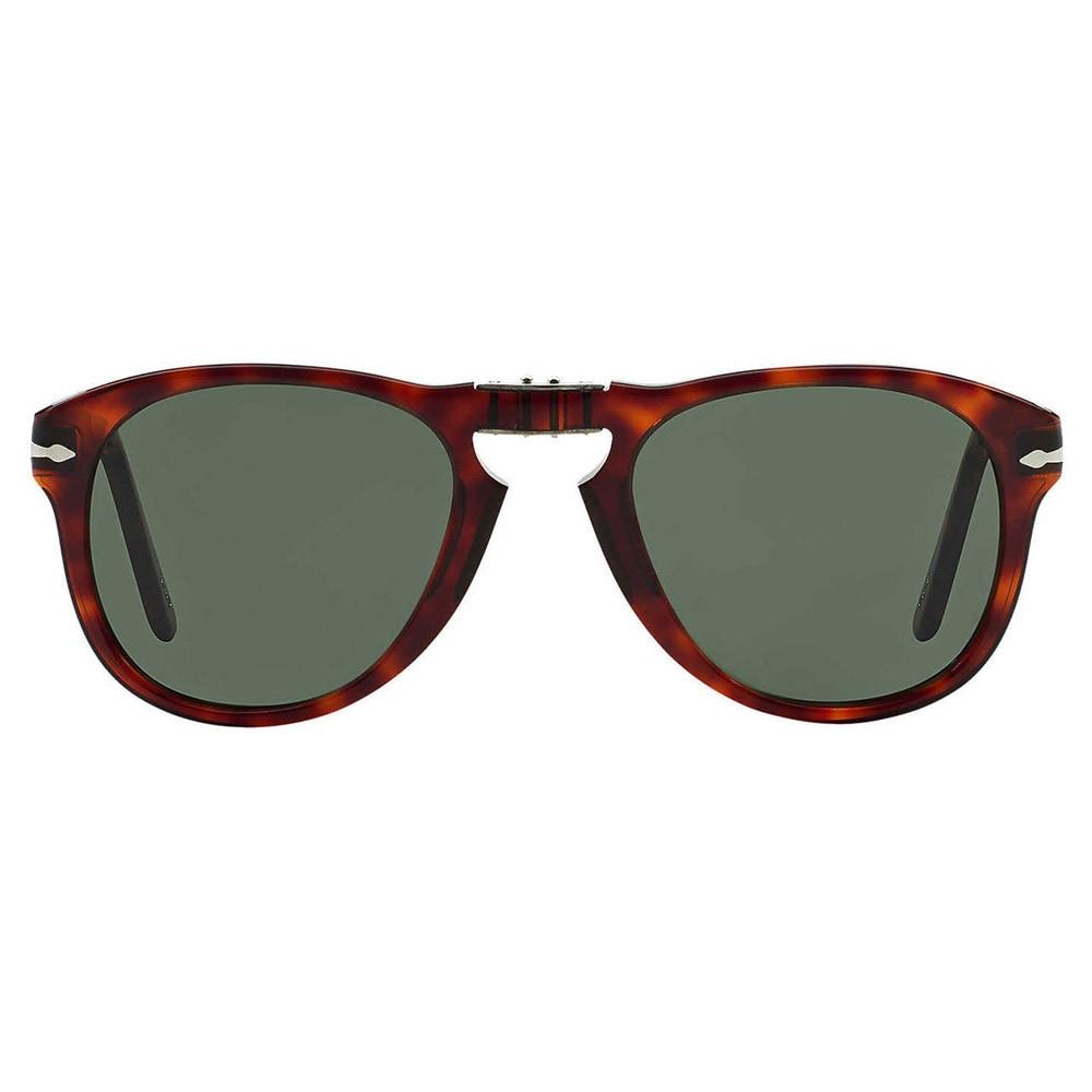 f1a8457527 Shop Persol Men s PO 714 Steve Mcqueen 24 31 Havana Foldable Plastic  Sunglasses - Free Shipping Today - Overstock - 6765441