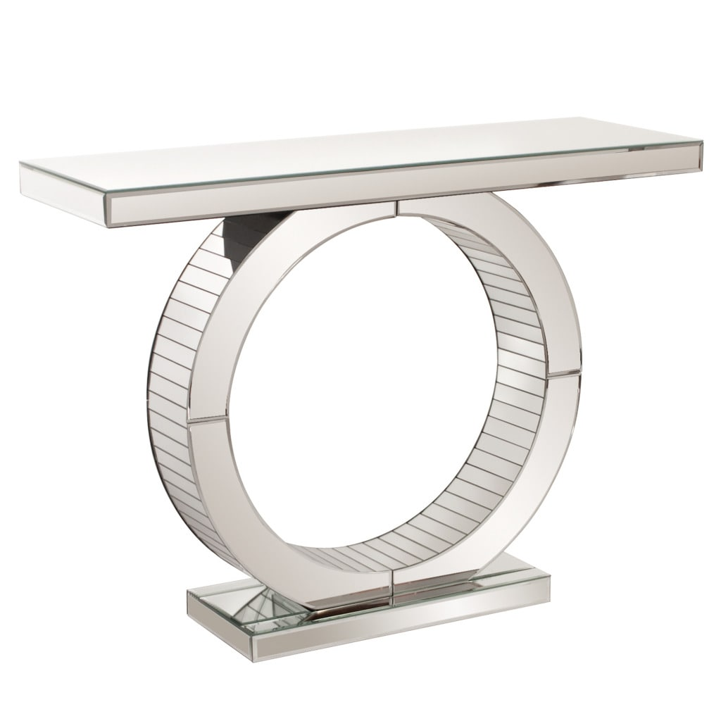 Bon Mirrored Console Table