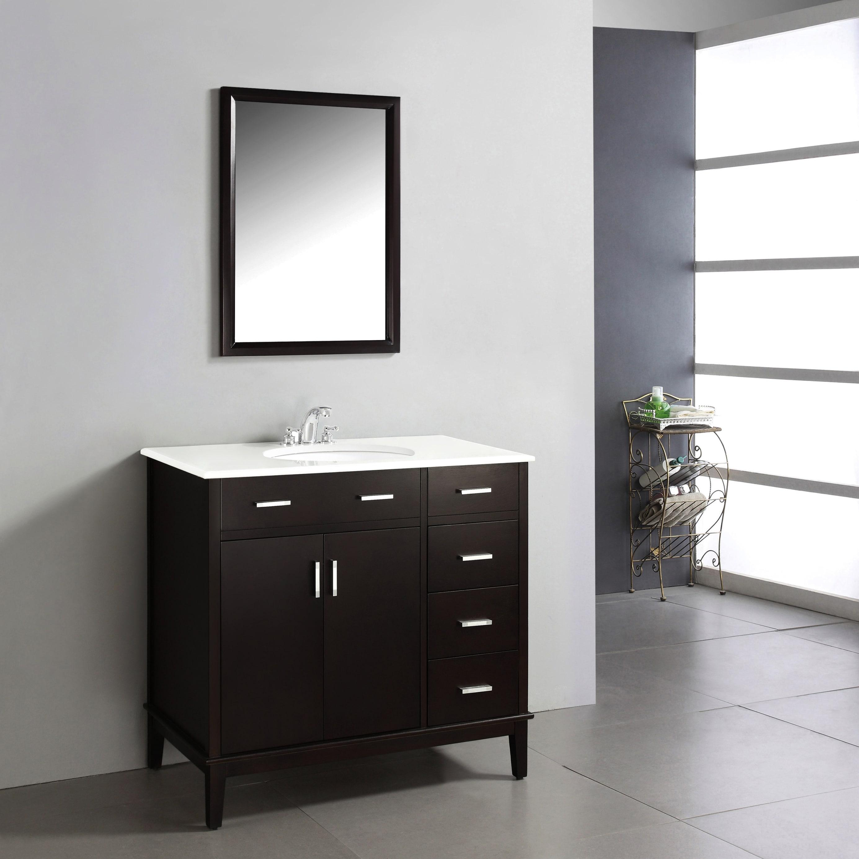 wyndenhall oxford dark espresso brown 2 door 36 inch bath vanity