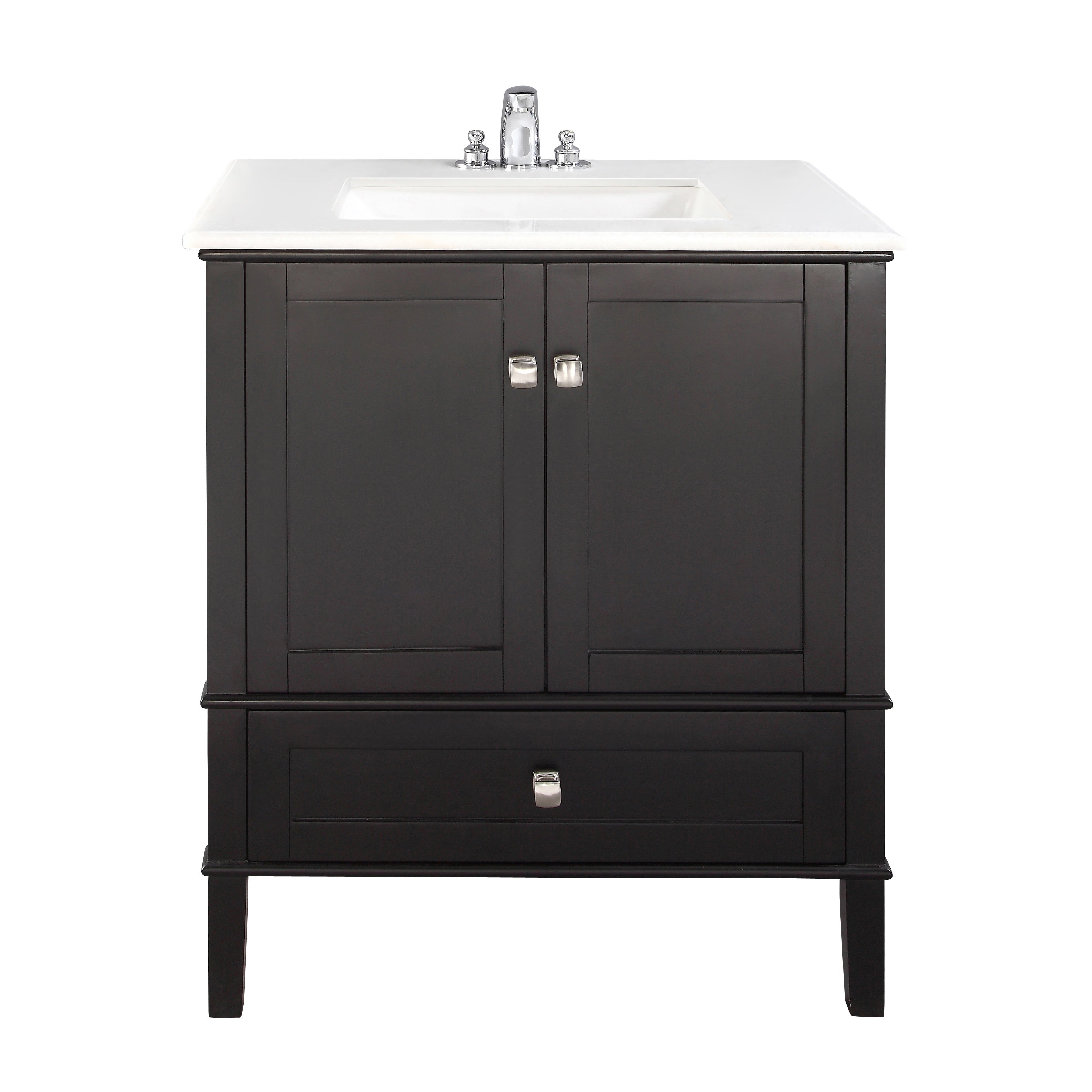 31 inch bathroom vanity. WYNDENHALL Windham Black 30-inch 2-door Bath Vanity Set With Bottom Drawer And White Quartz Marble Top - Free Shipping Today Overstock 14311911 31 Inch Bathroom