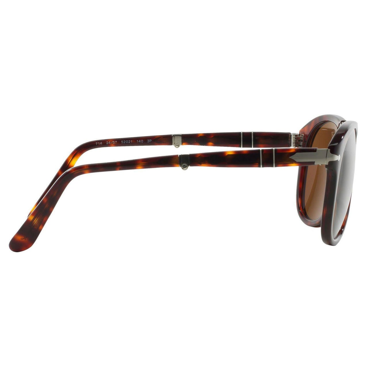 e11d76d41e6ea Shop Persol Men s Steve McQueen 24 57 Havana Foldable Plastic Polarized  Sunglasses - Free Shipping Today - Overstock - 6771882