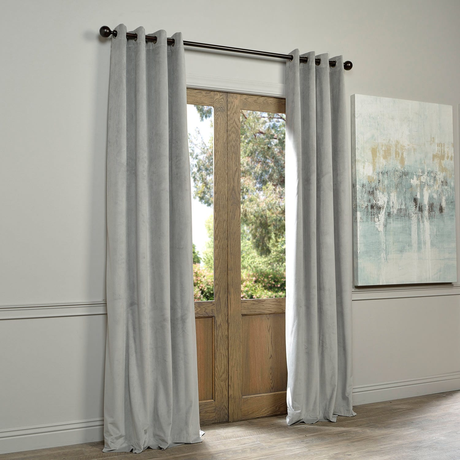 inches with grommet panels size blackout curtain polyester grommets top grey drapes dark sheer piece pin solid