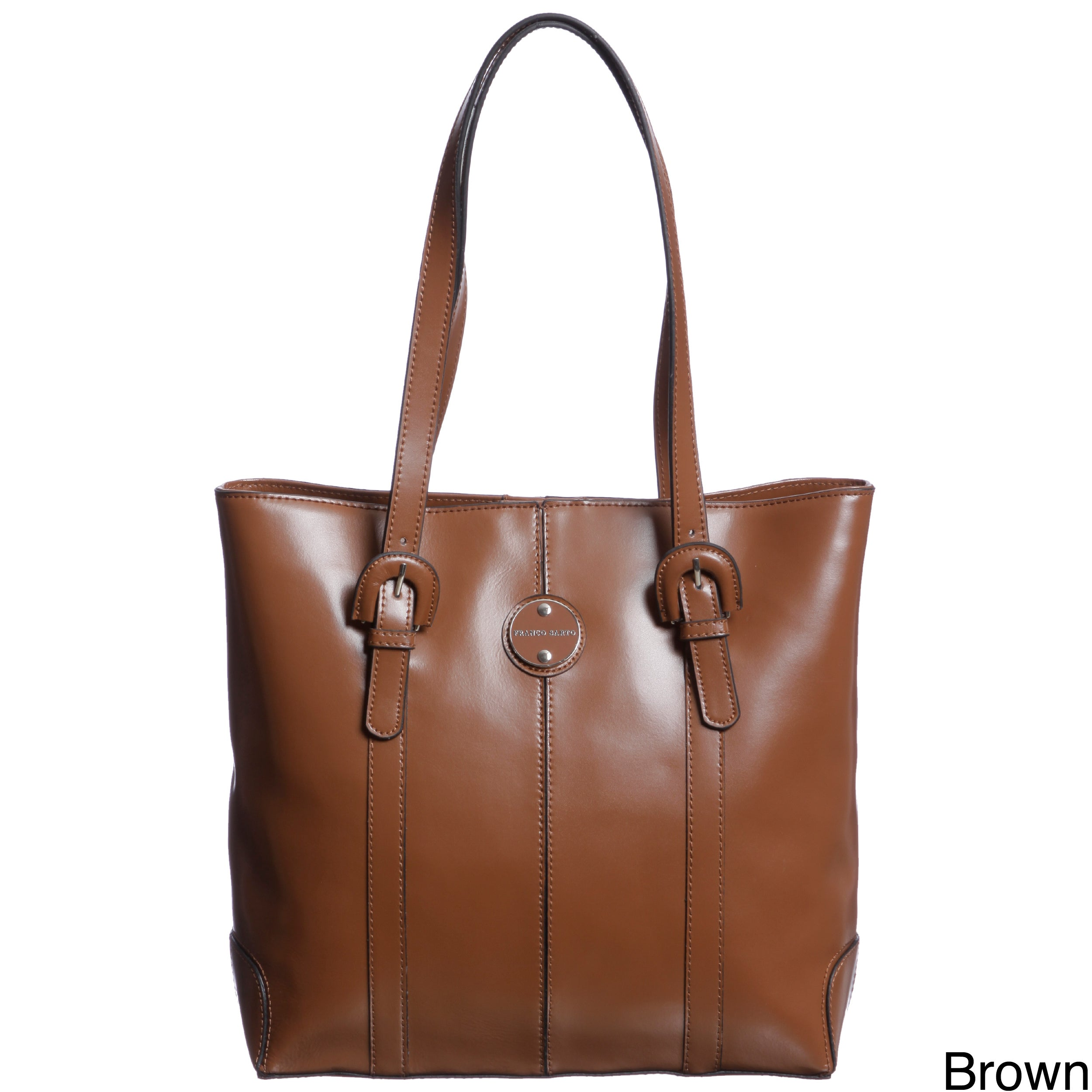 a5292b06ee8 Shop Franco Sarto Park Place Leather Tote Bag - Free Shipping Today ...