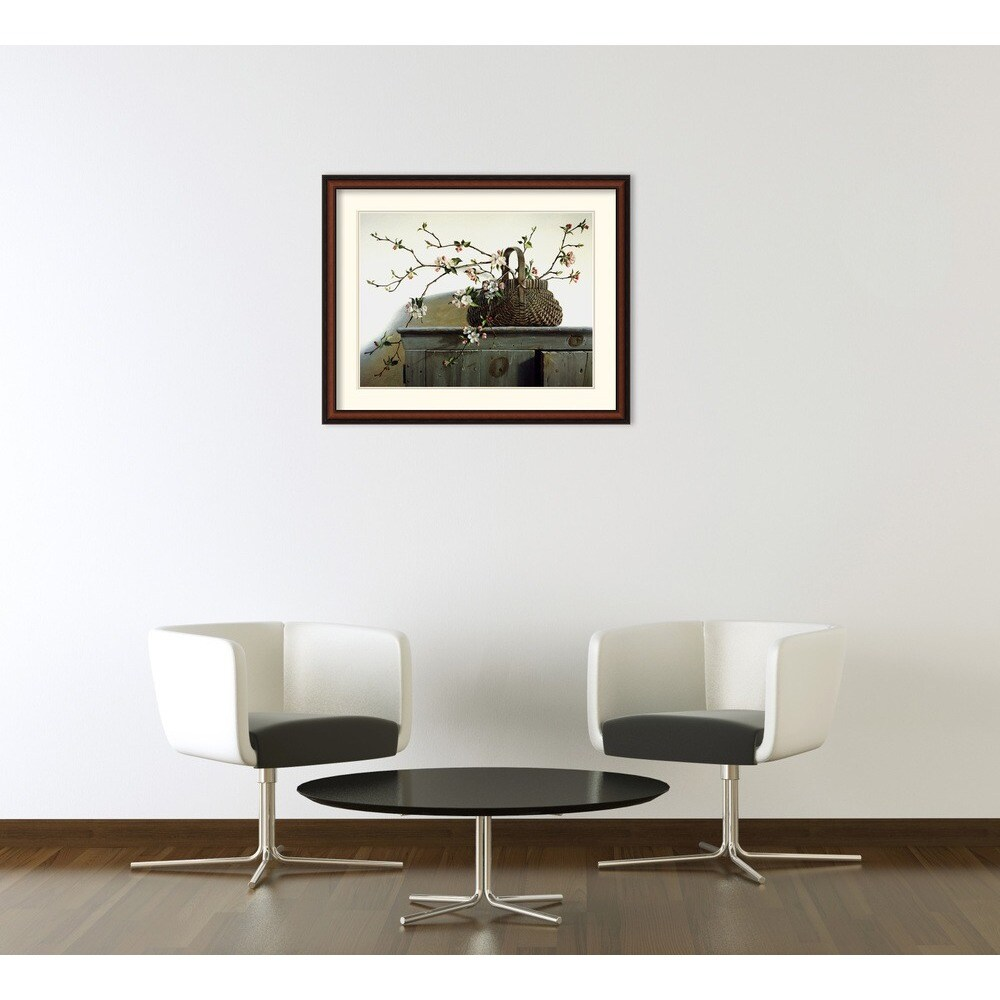 Shop Pauline Eble Campanelli \'Apple Blossoms\' Framed Art Print ...