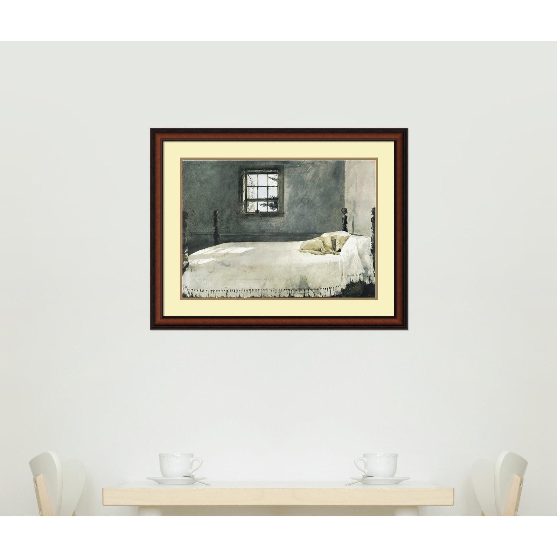 Andrew Wyeth \'Master Bedroom\' Framed Art Print