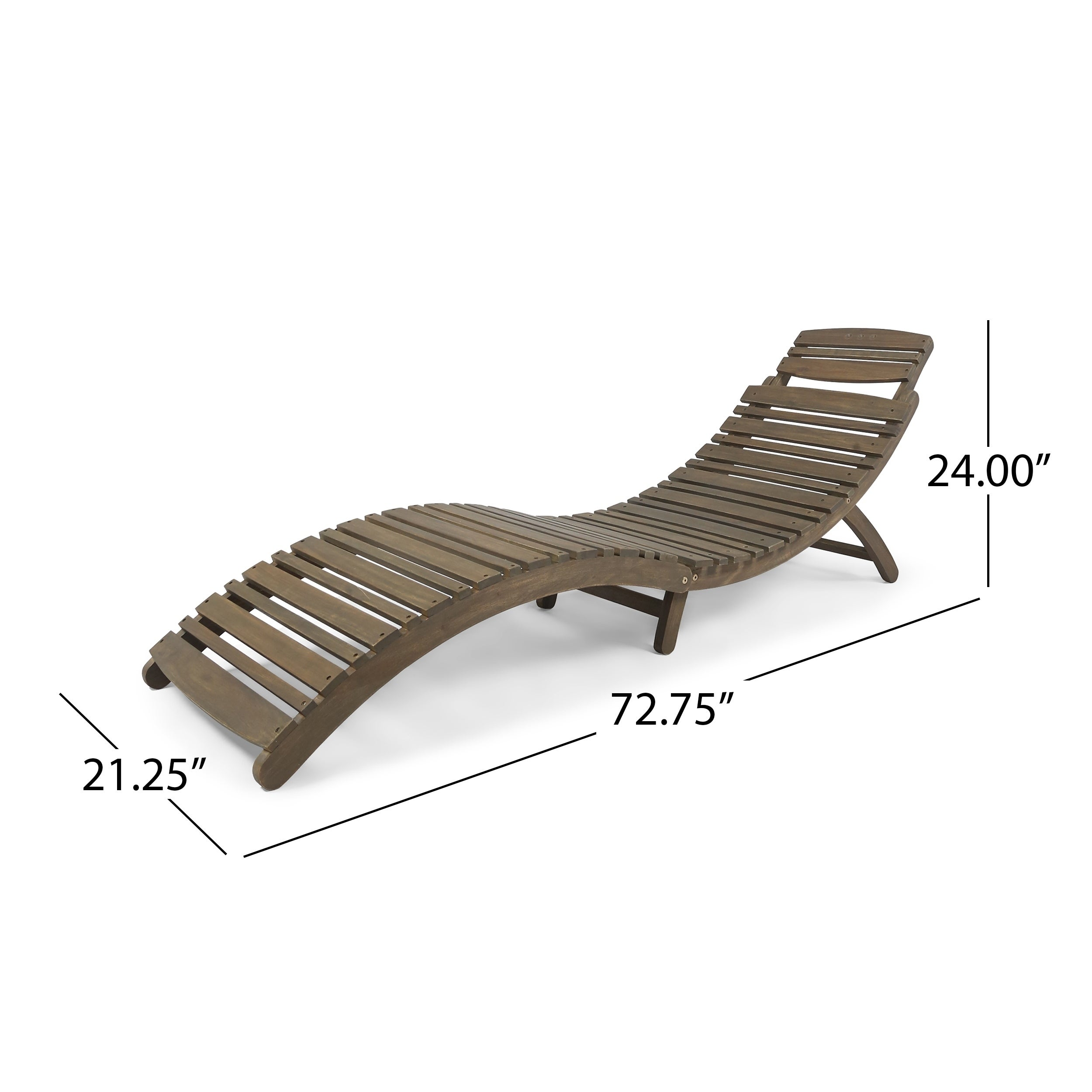 Shop Lahaina Outdoor Acacia Wood Chaise Lounge By Christopher Knight Home    On Sale   Free Shipping Today   Overstock.com   6788581