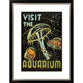 Gallery Direct 'Visit the Aquarium' Framed Limited Edition Giclee