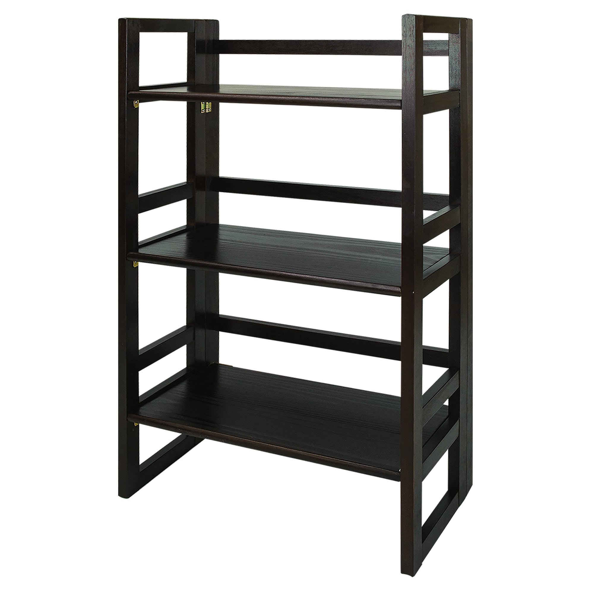 3 Shelf Folding Student 20 75 Inch Wide Bookcase Free Shipping Today 14339468