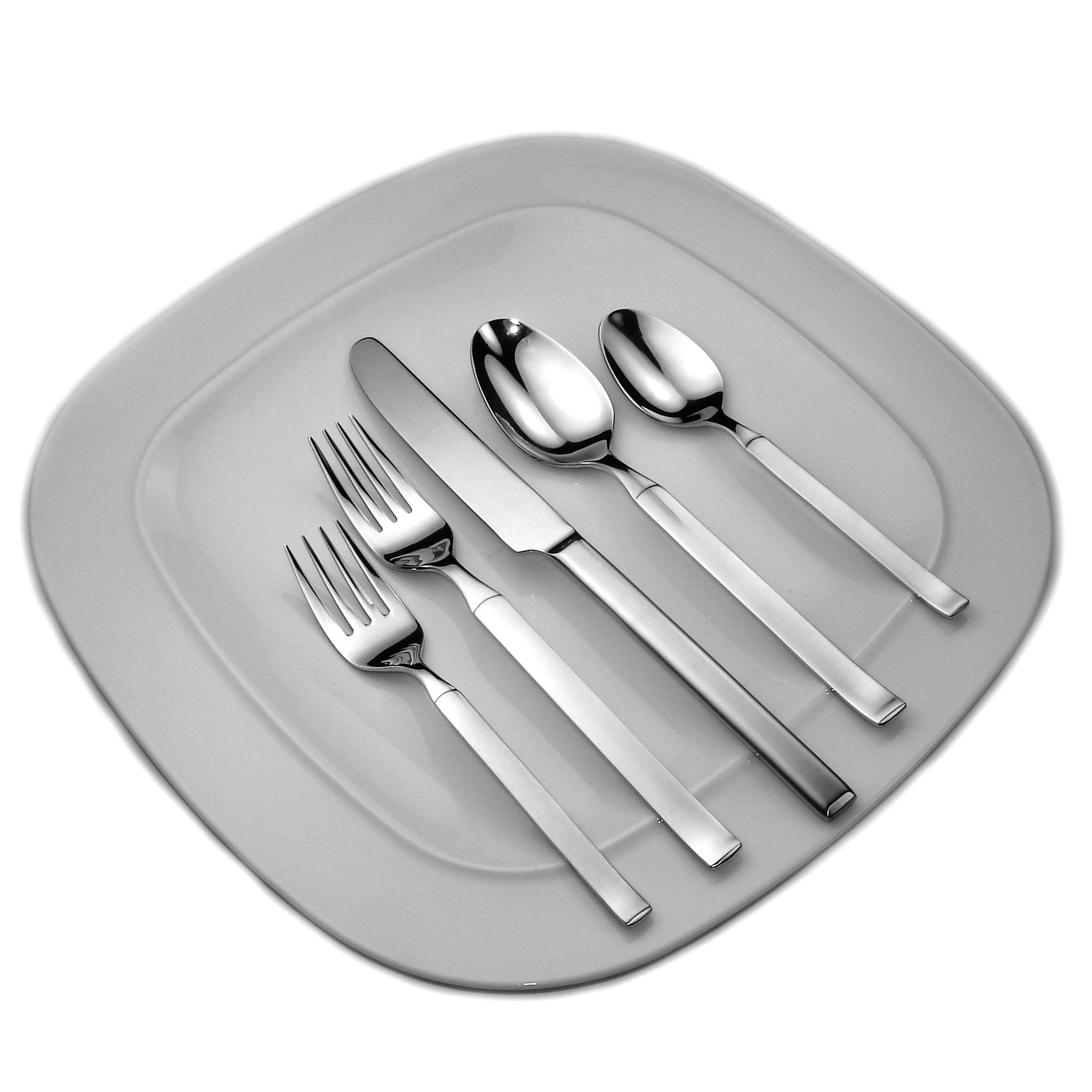 David Shaw Orchid 45pc Flatware Set - Free Shipping Today - Overstock - 14339742  sc 1 st  Overstock.com & David Shaw Orchid 45pc Flatware Set - Free Shipping Today ...