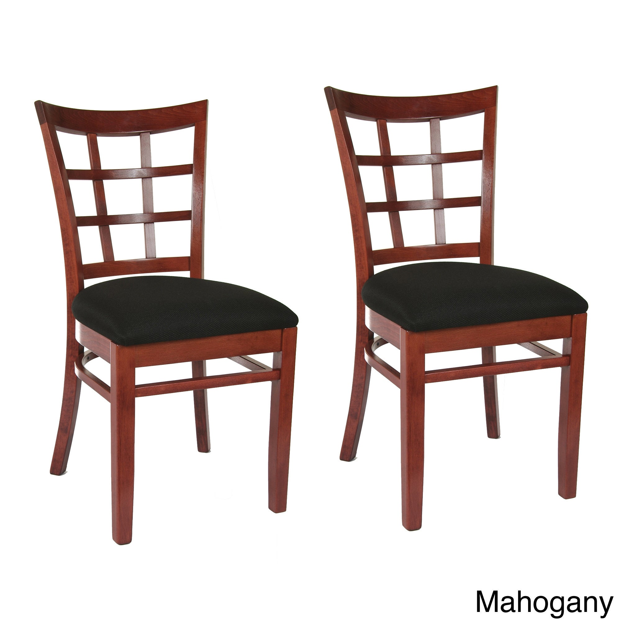 Shop Lattice Dining Chairs (Set Of 2)   Free Shipping Today   Overstock.com    6813625