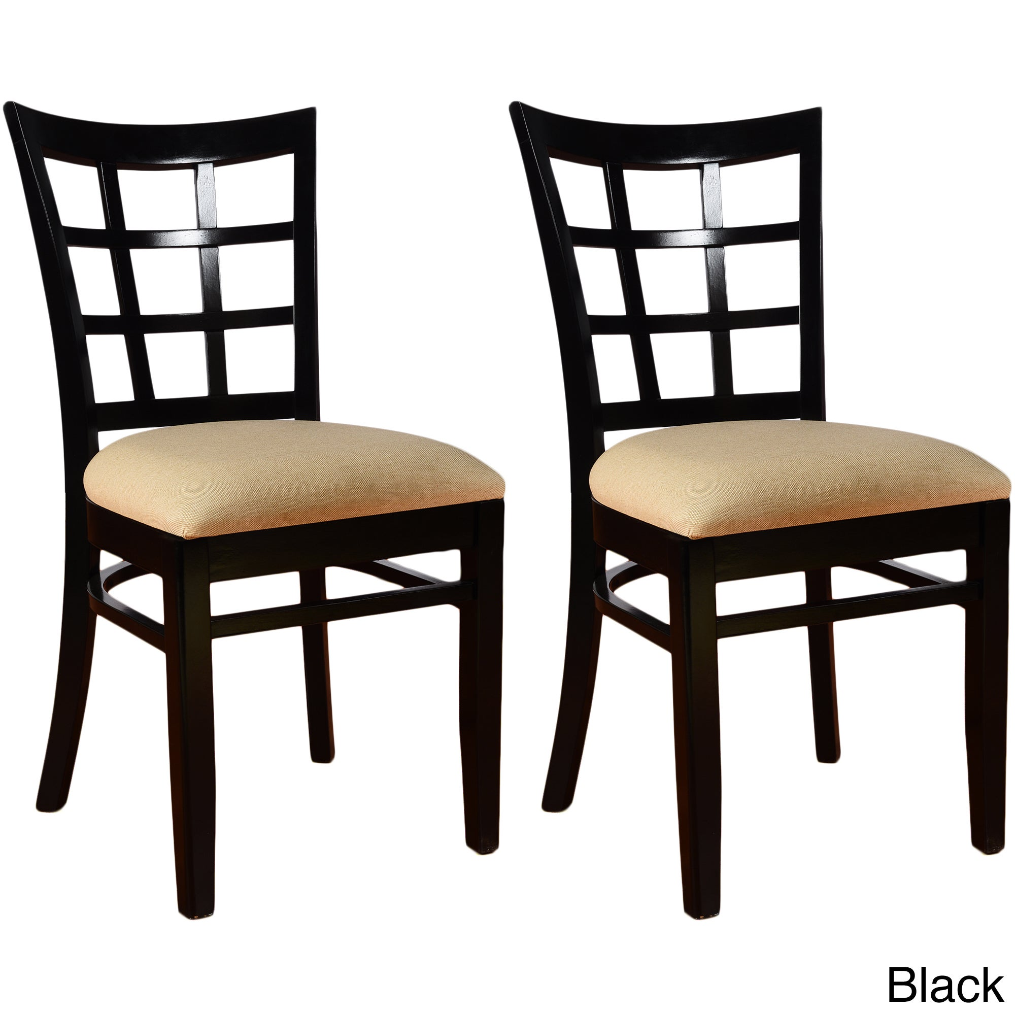 Wonderful Lattice Dining Chairs (Set Of 2)   Free Shipping Today   Overstock    14346218