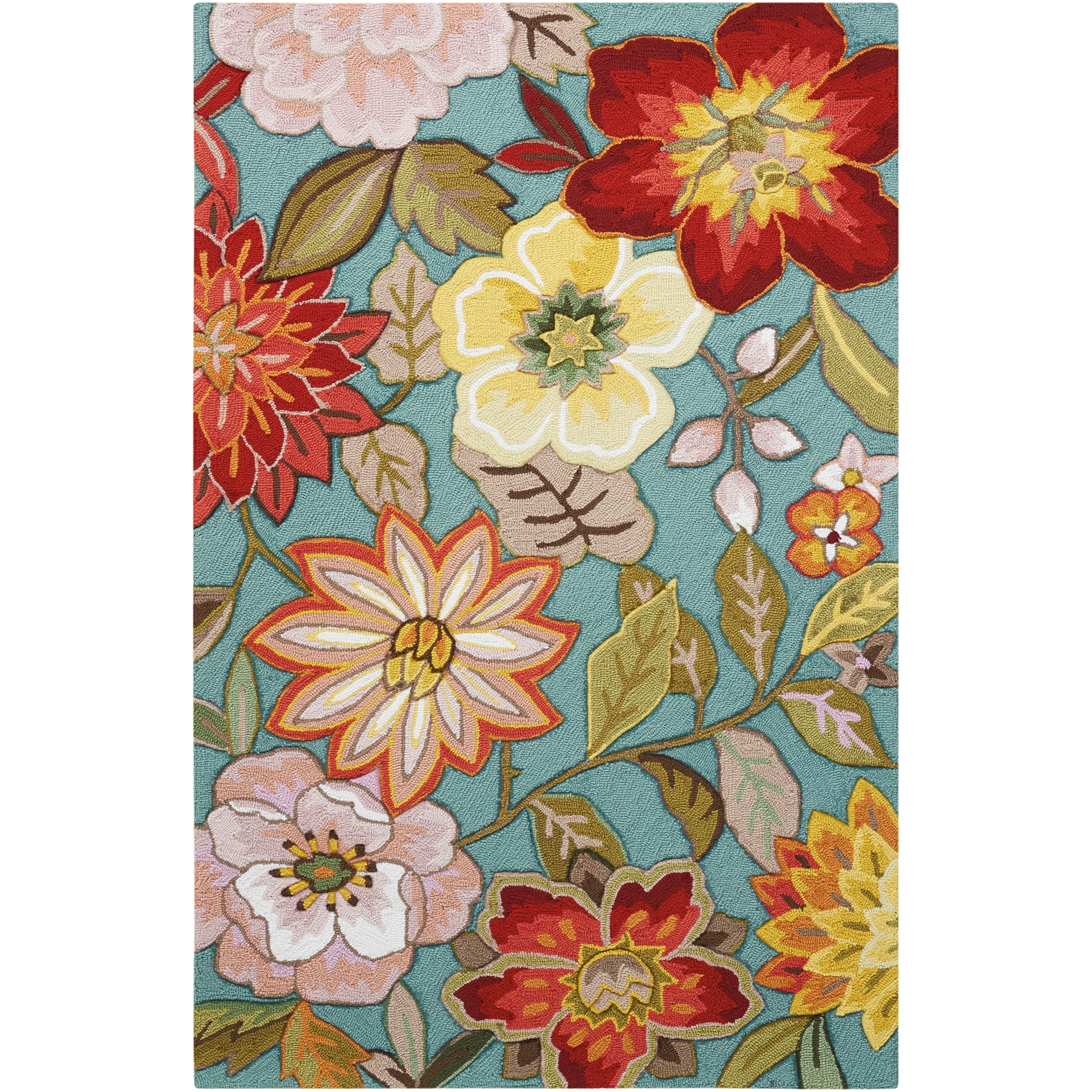 Nourison Fantasy Fl Area Rug On Free Shipping Orders Over 45 6830857