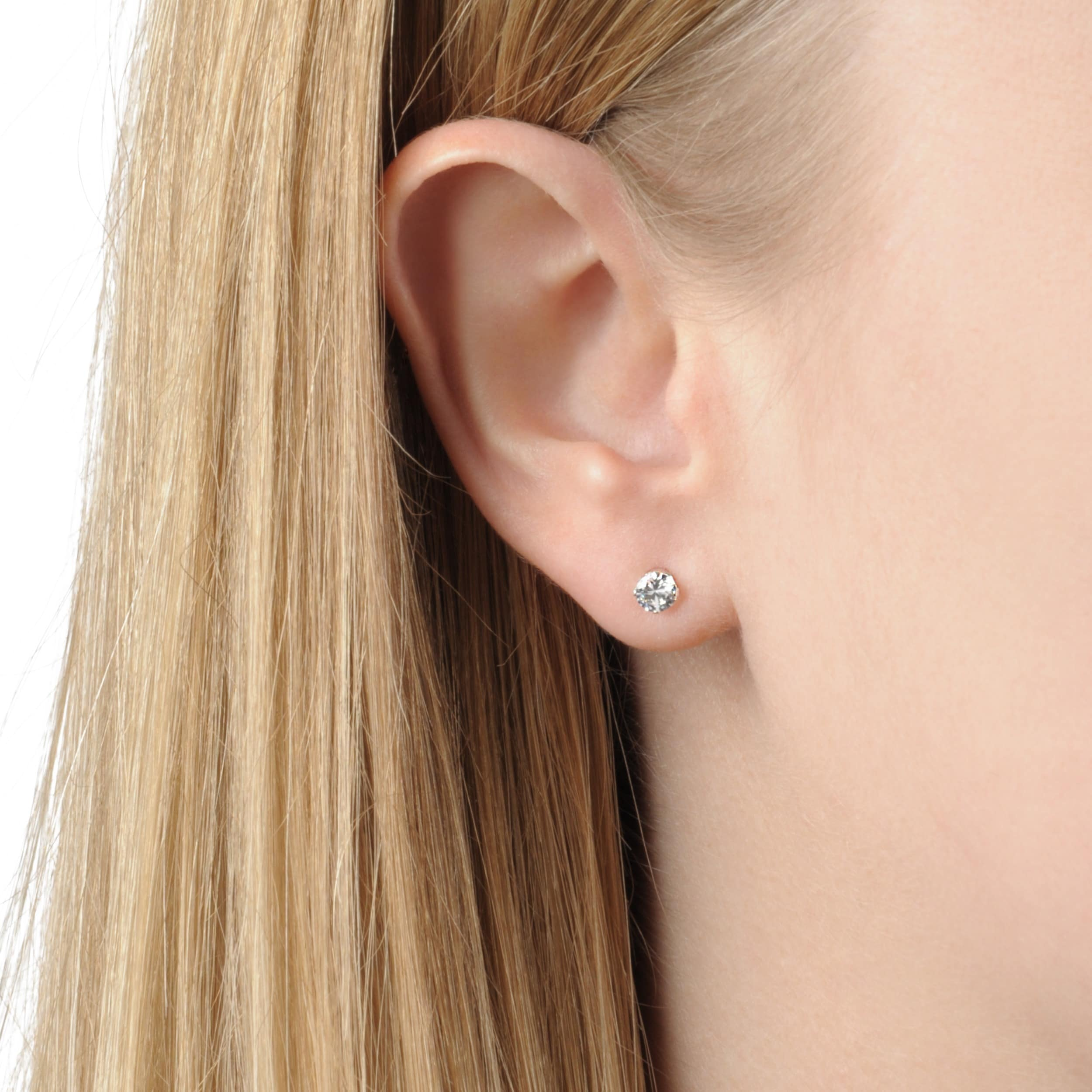 mm pin pinterest piercing pearl stud cartilage